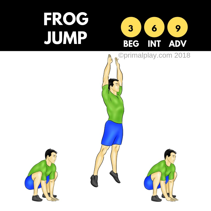 Frog Jump - Animal Moves Deck