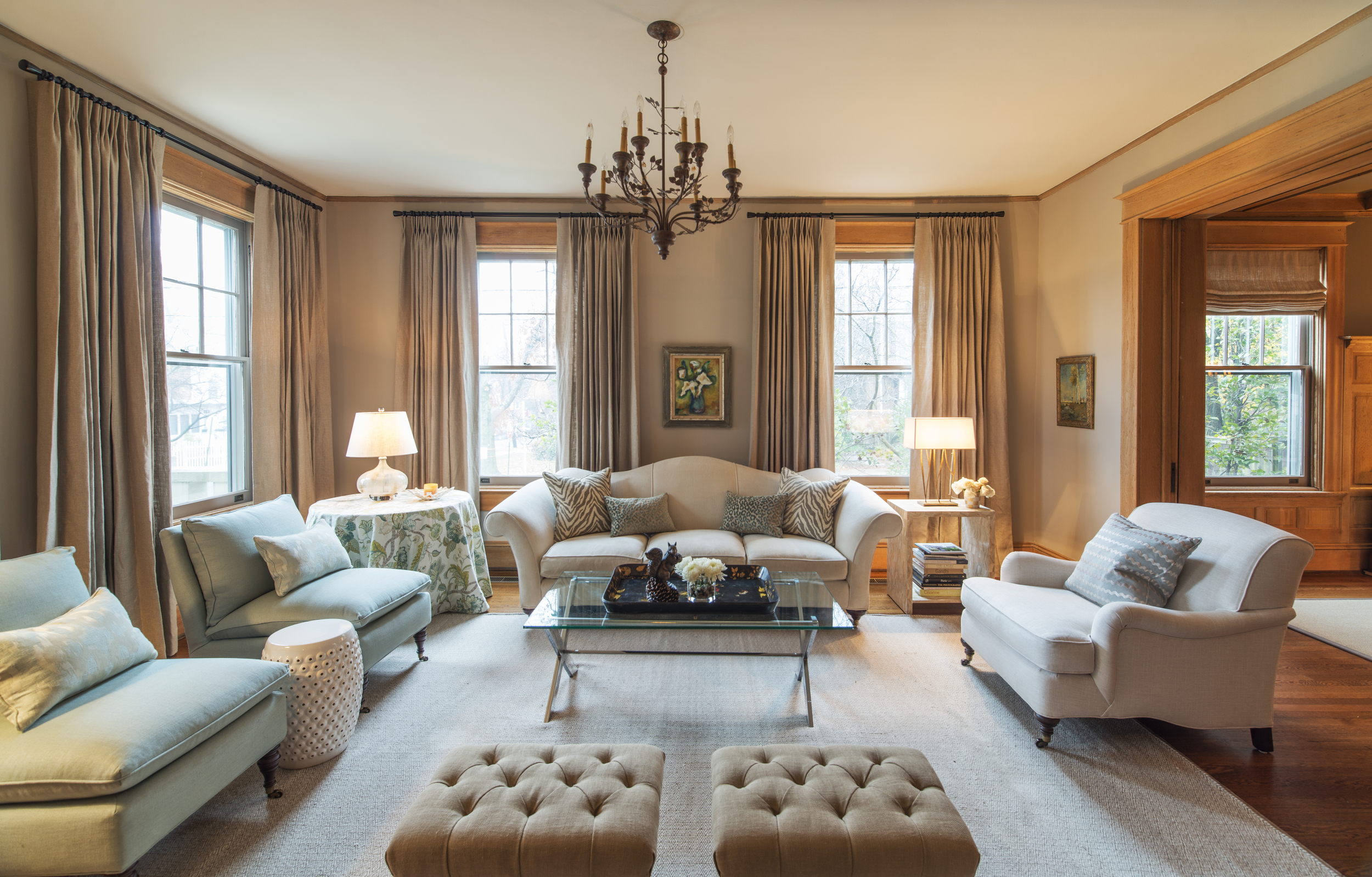 Chevy Chase DC, Renovation and Interior Design