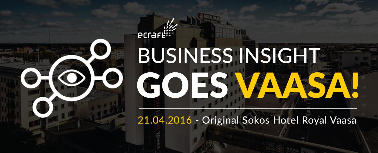 Business Insight goes Vaasa