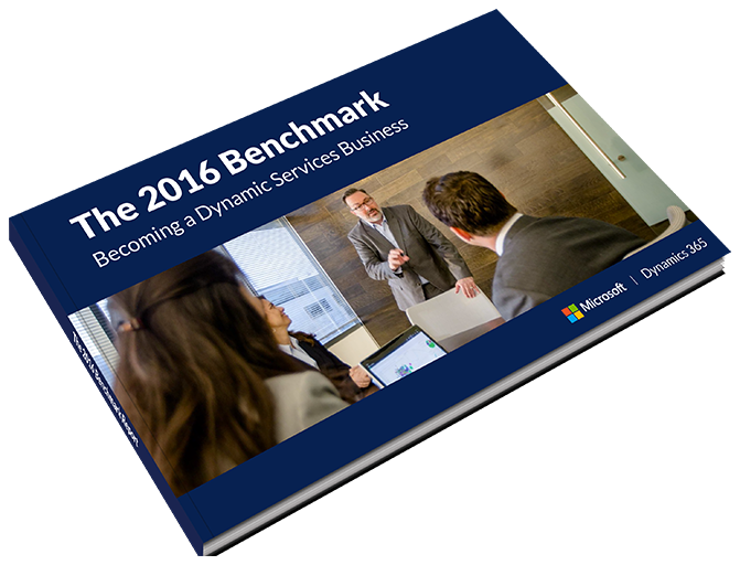 Becoming a Dynamic Services Business - The 2016 Benchmark