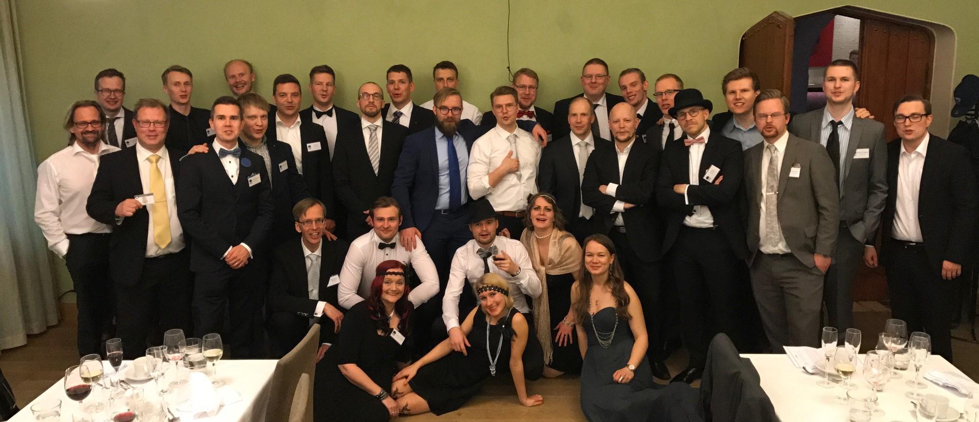eCraft Business Insightin viisivuotista taivalta juhlittiin toukokuussa 2017 murhamysteeri-illallisen merkeissä.