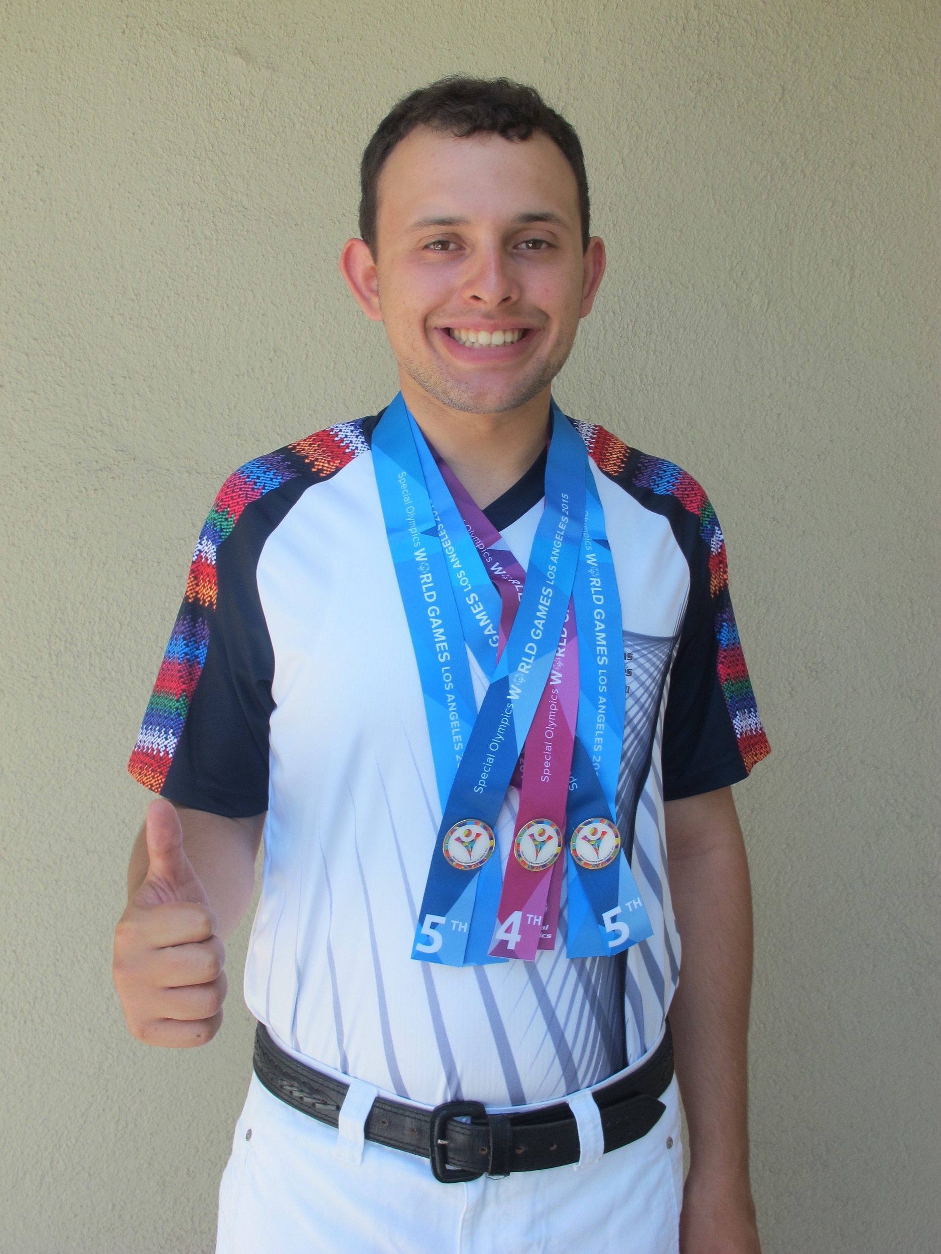 Ricardo Sousa Equitación No obtuvo medalla, 4to Working Trail 5to Dressage y English Equitation.JPG