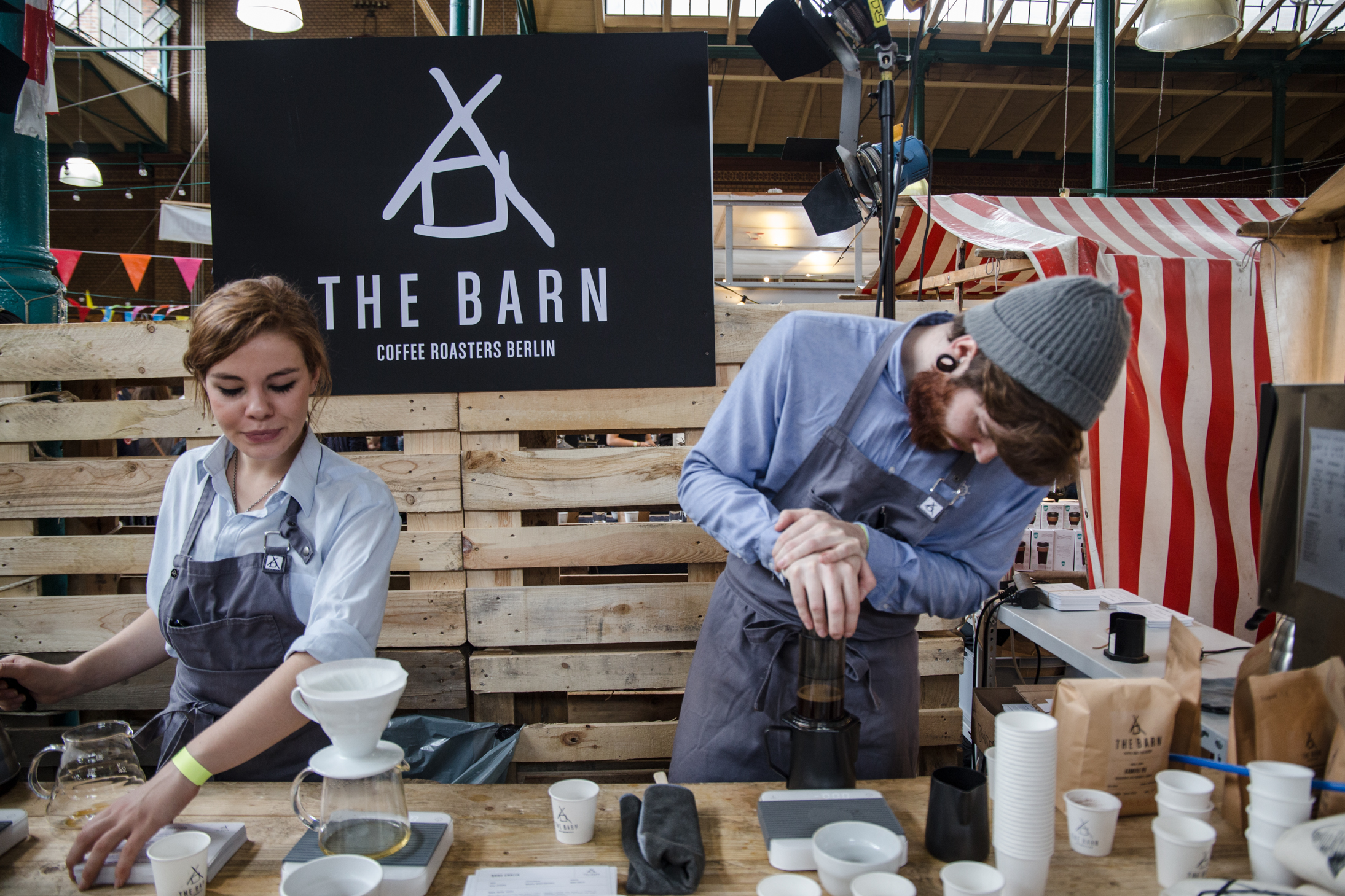 The Barn at Berlin Coffee Festival 2016