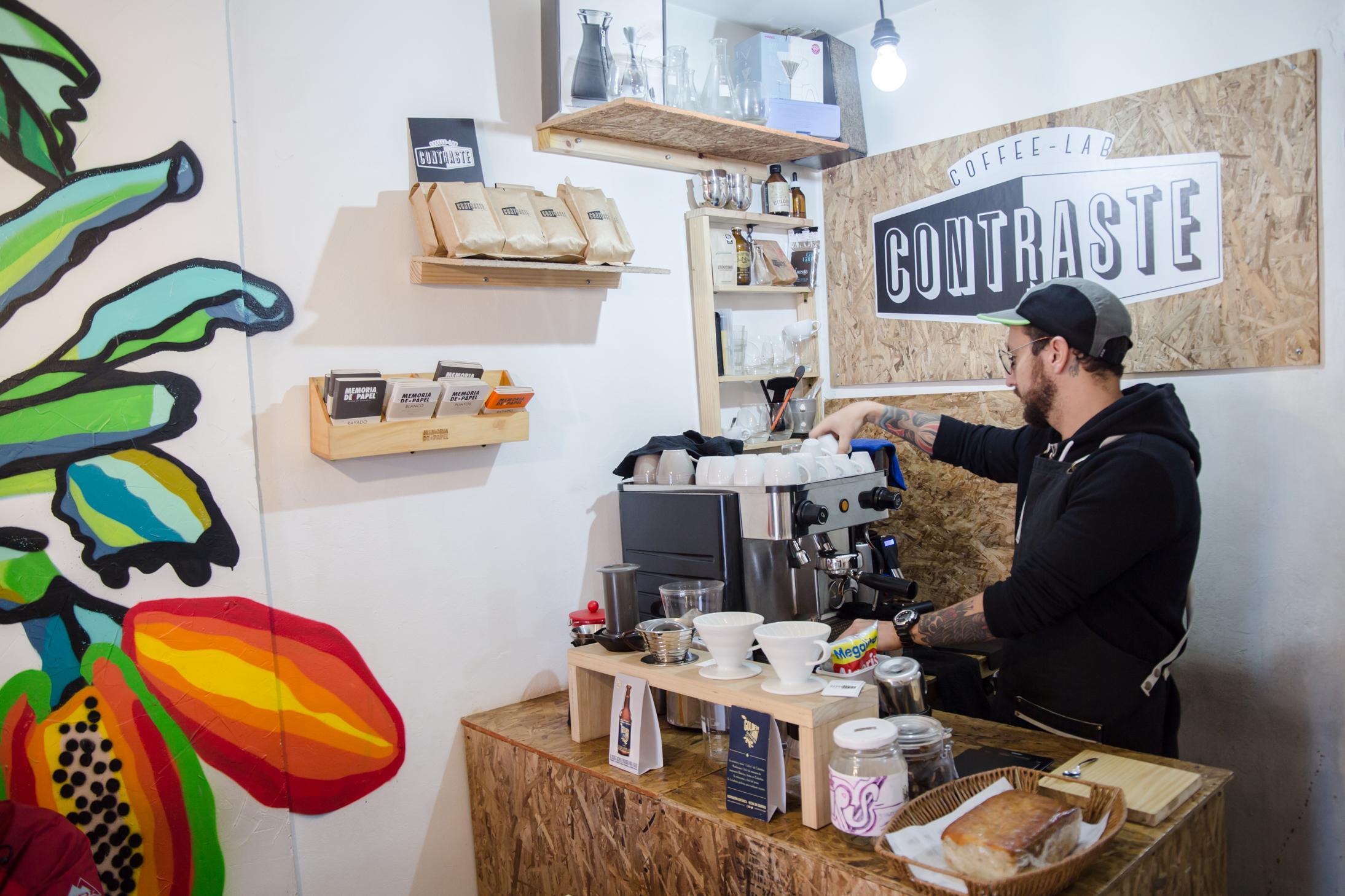 contraste coffee lab bogota third wave