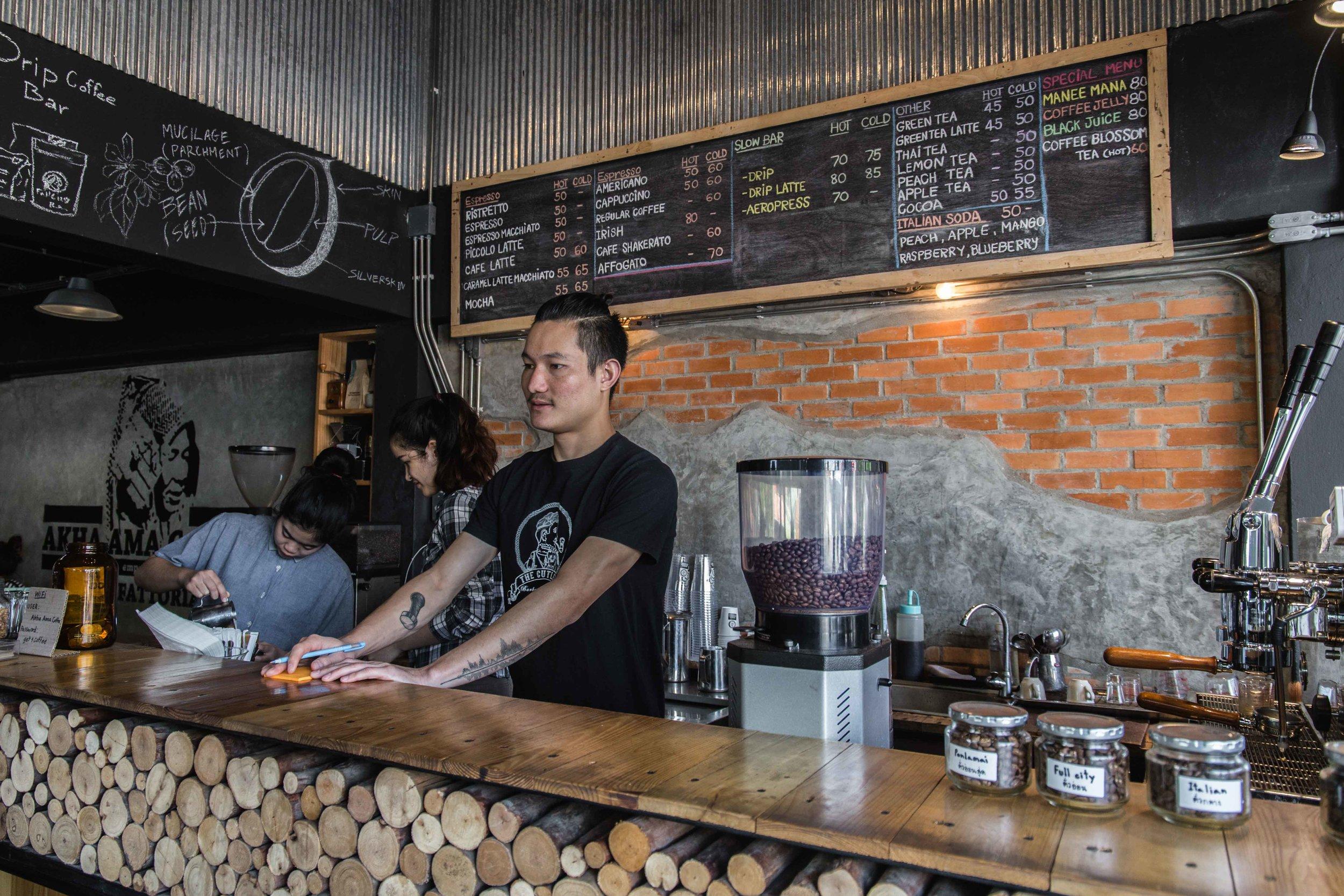 Akha Ama Specialty Coffee Chiang Mai