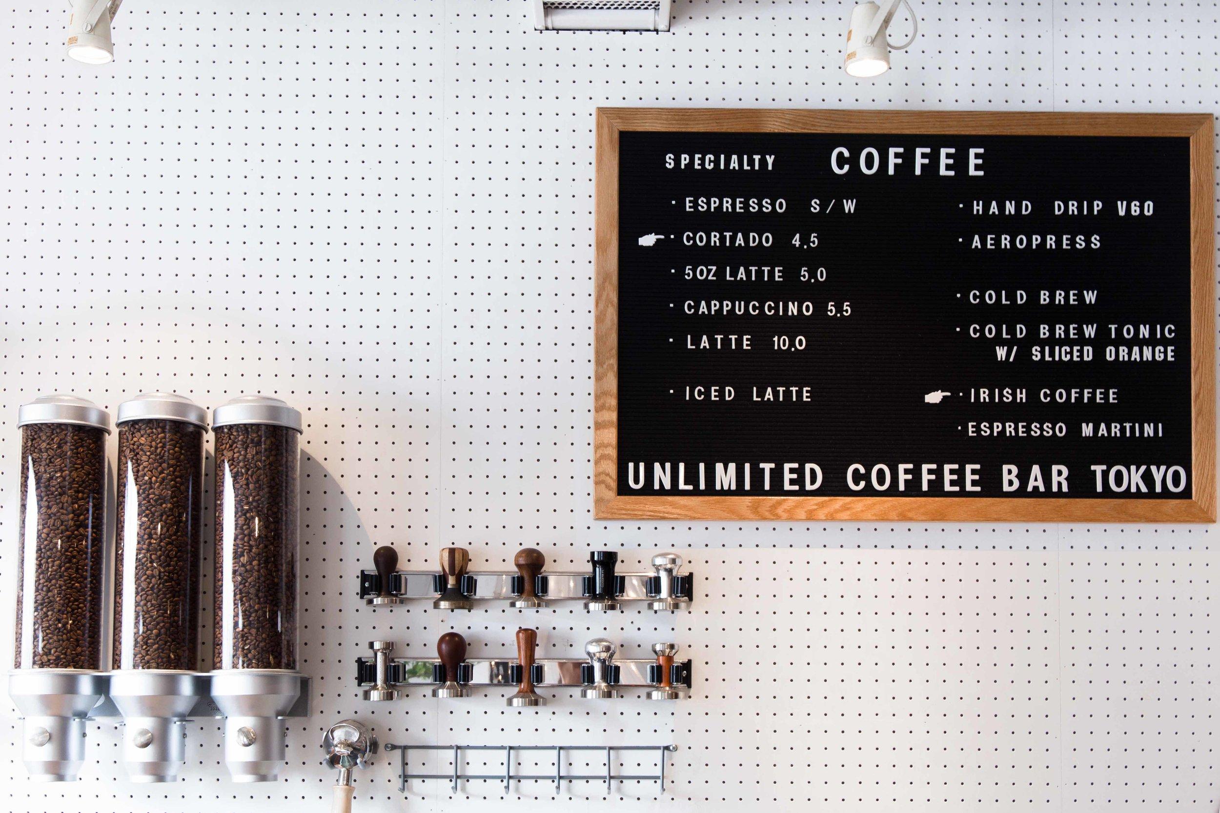 Tokyo Unlimited Specialty Coffee Shop