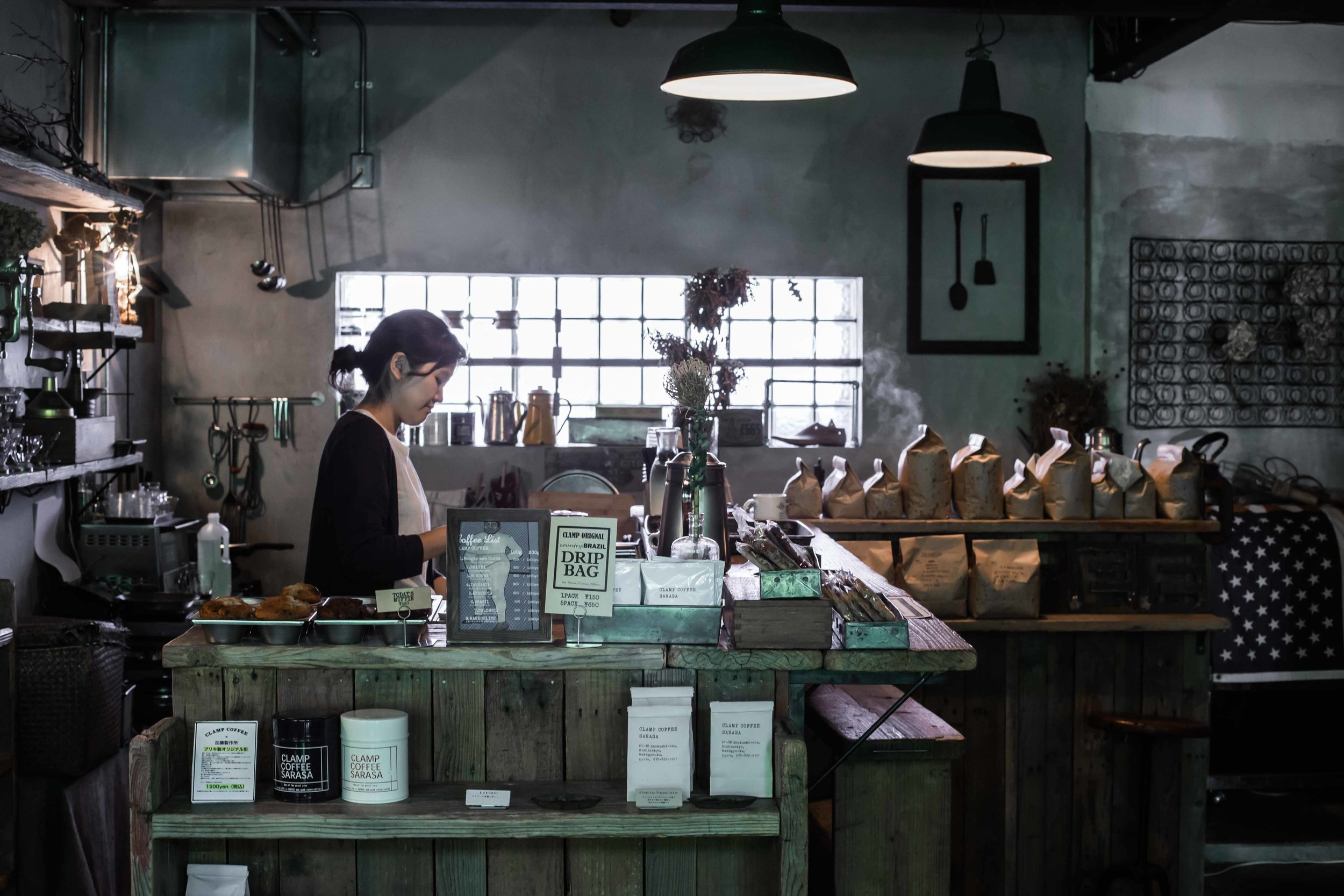 Clamp Coffee Sarasa Specialty Coffee in Kyoto