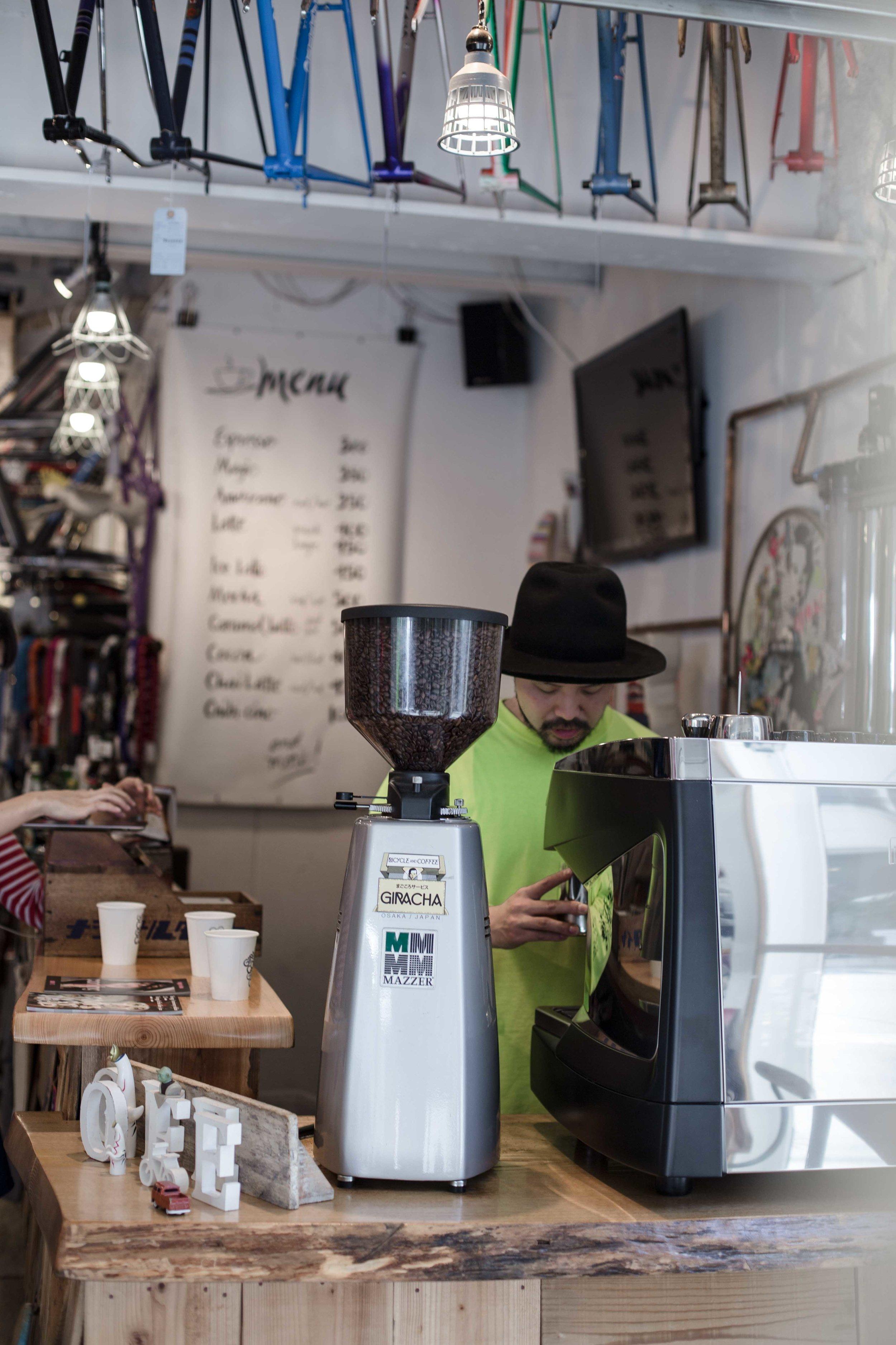 Giracha Specialty Coffee Osaka