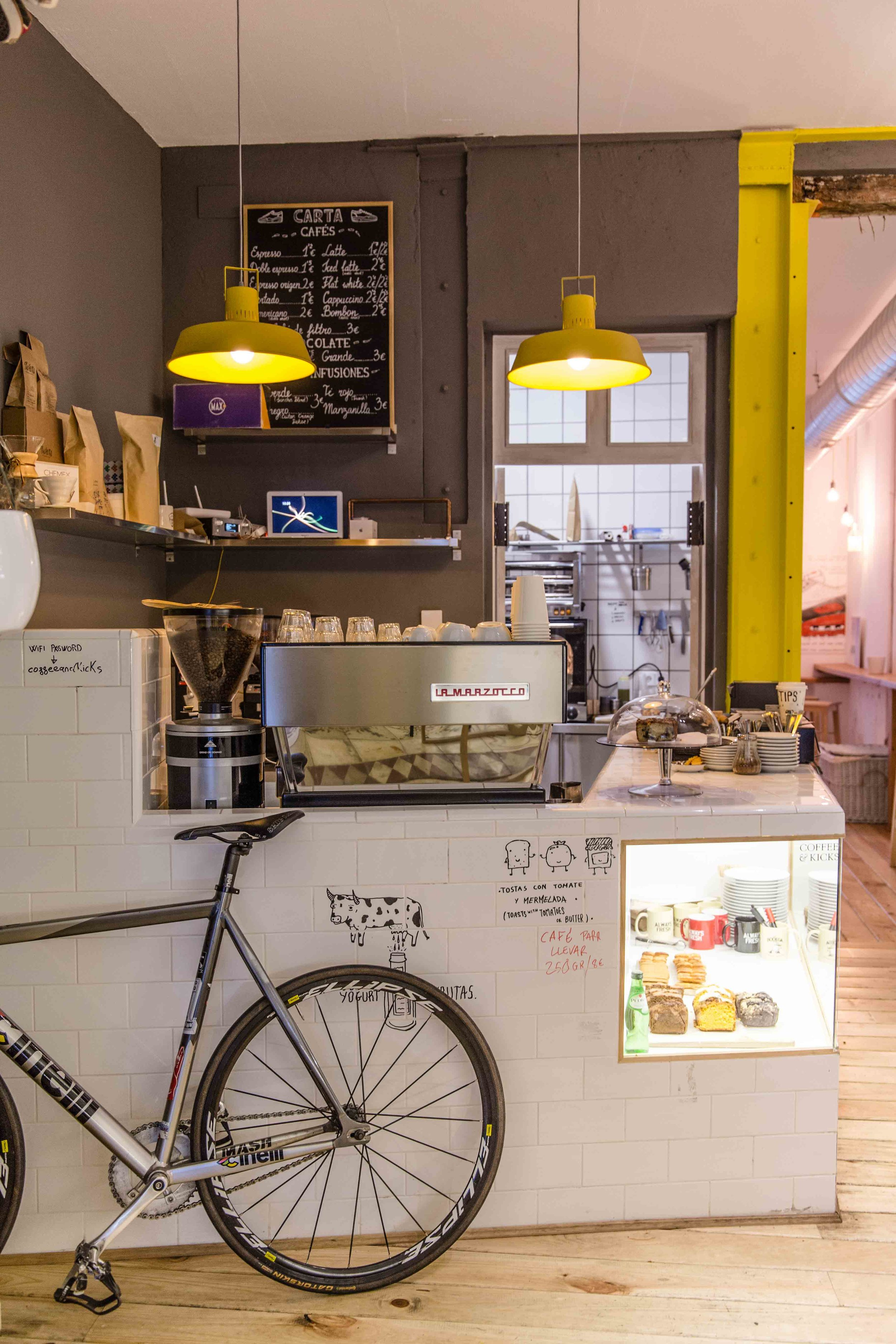 Coffee and Kicks Specialty Coffee Madrid