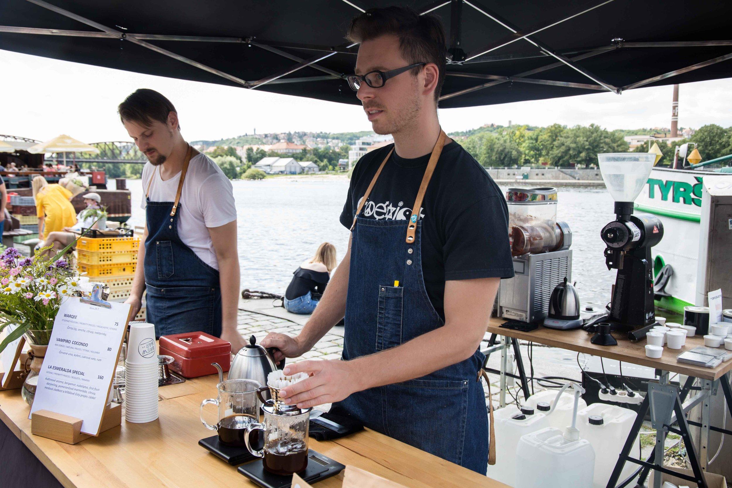 brewbar specialty coffee prague