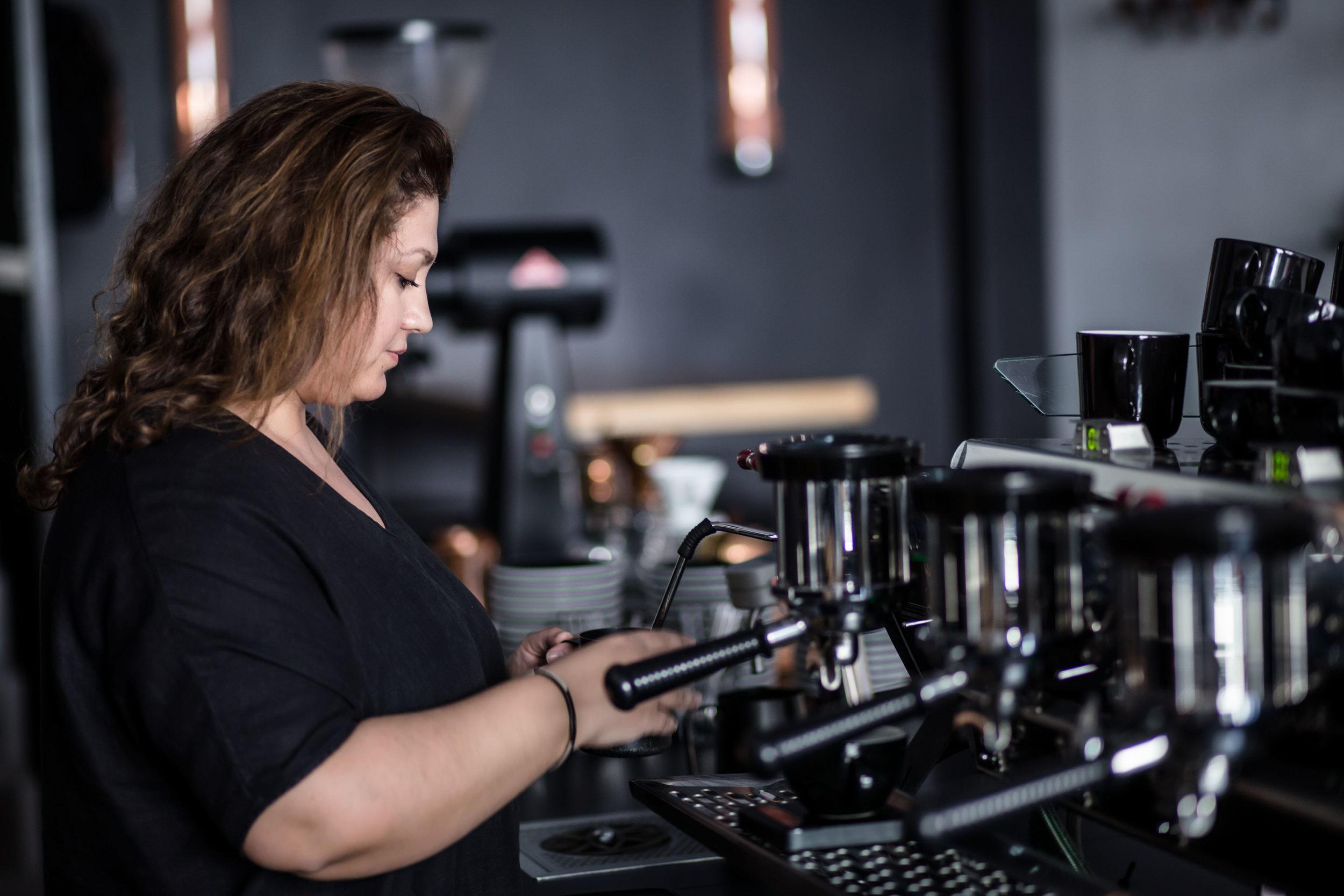 Tansel Özbek Refinery Coffee Berlin