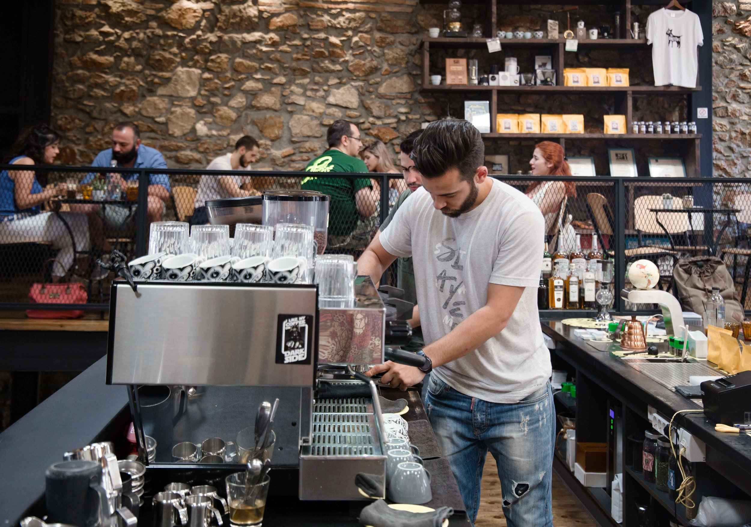 the undersog specialty coffee athens