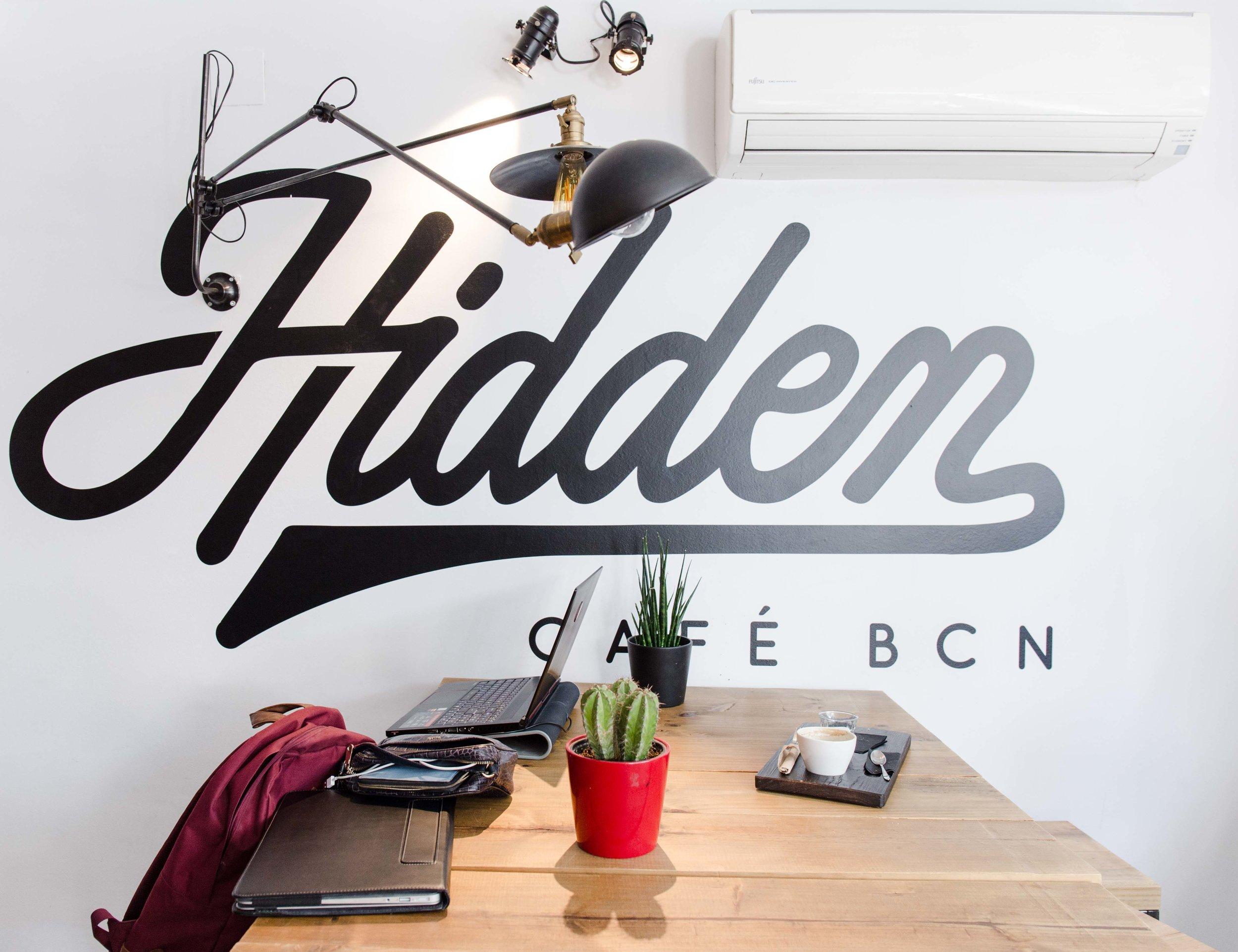 hidden cafe barcelona