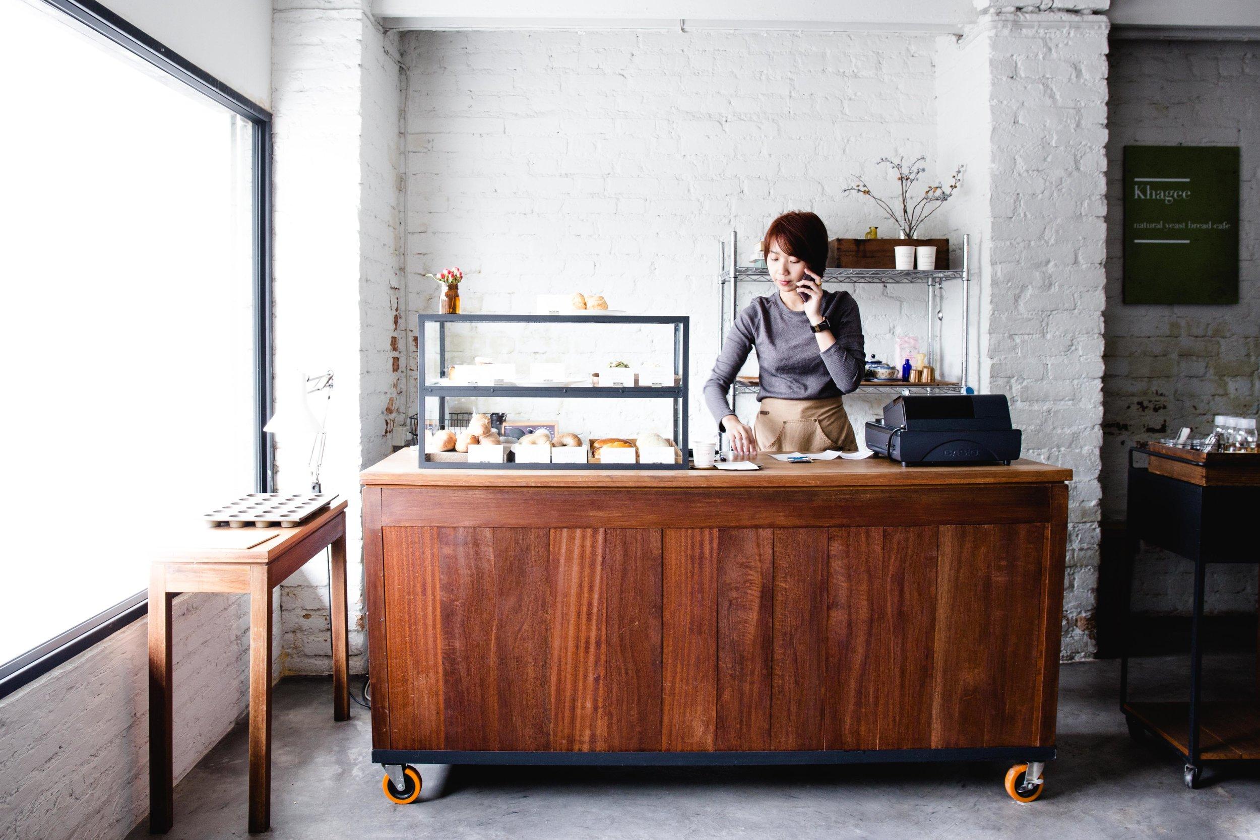 khagee coffee shop chiang mai