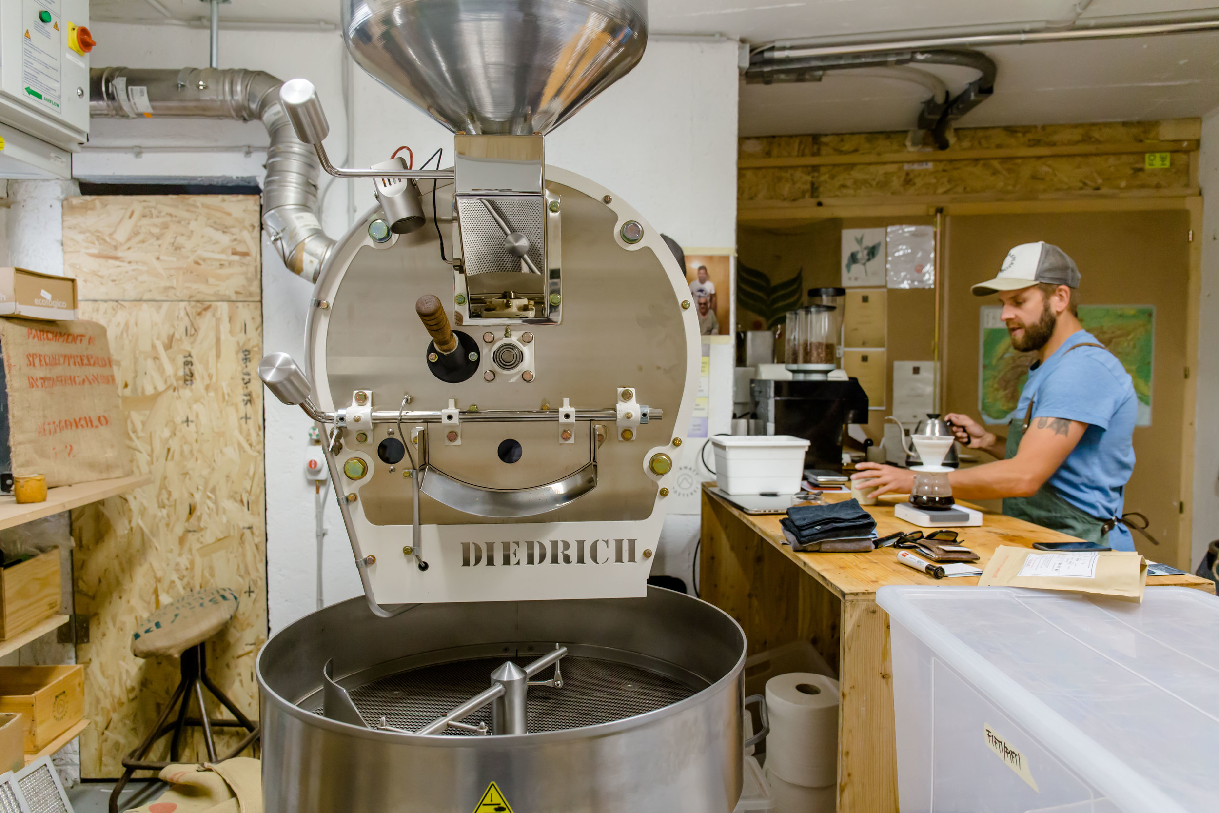 Zermatt Rösterei specialty coffee roastery