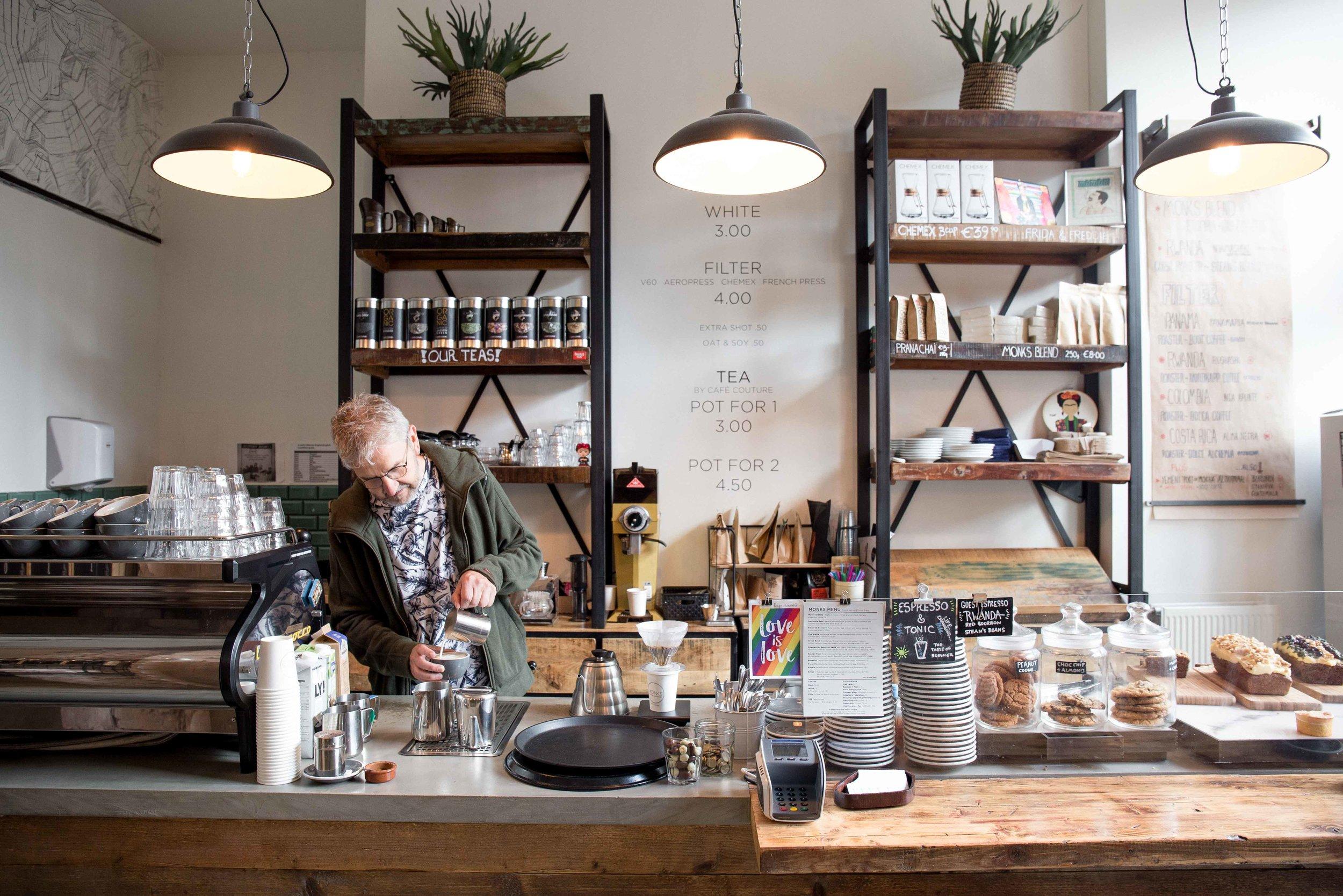 monks coffee roaster amsterdam