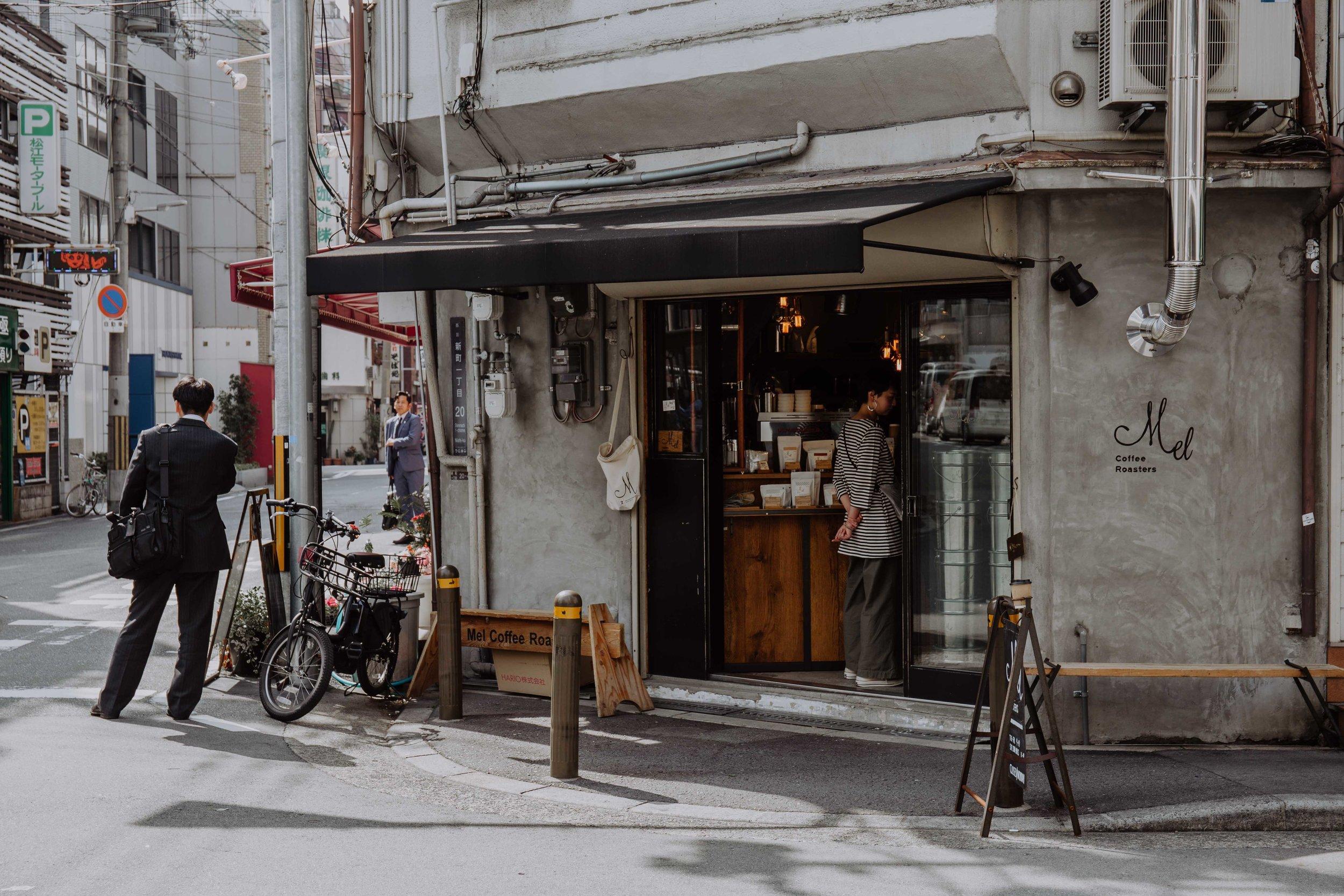 mel coffee roasters japan