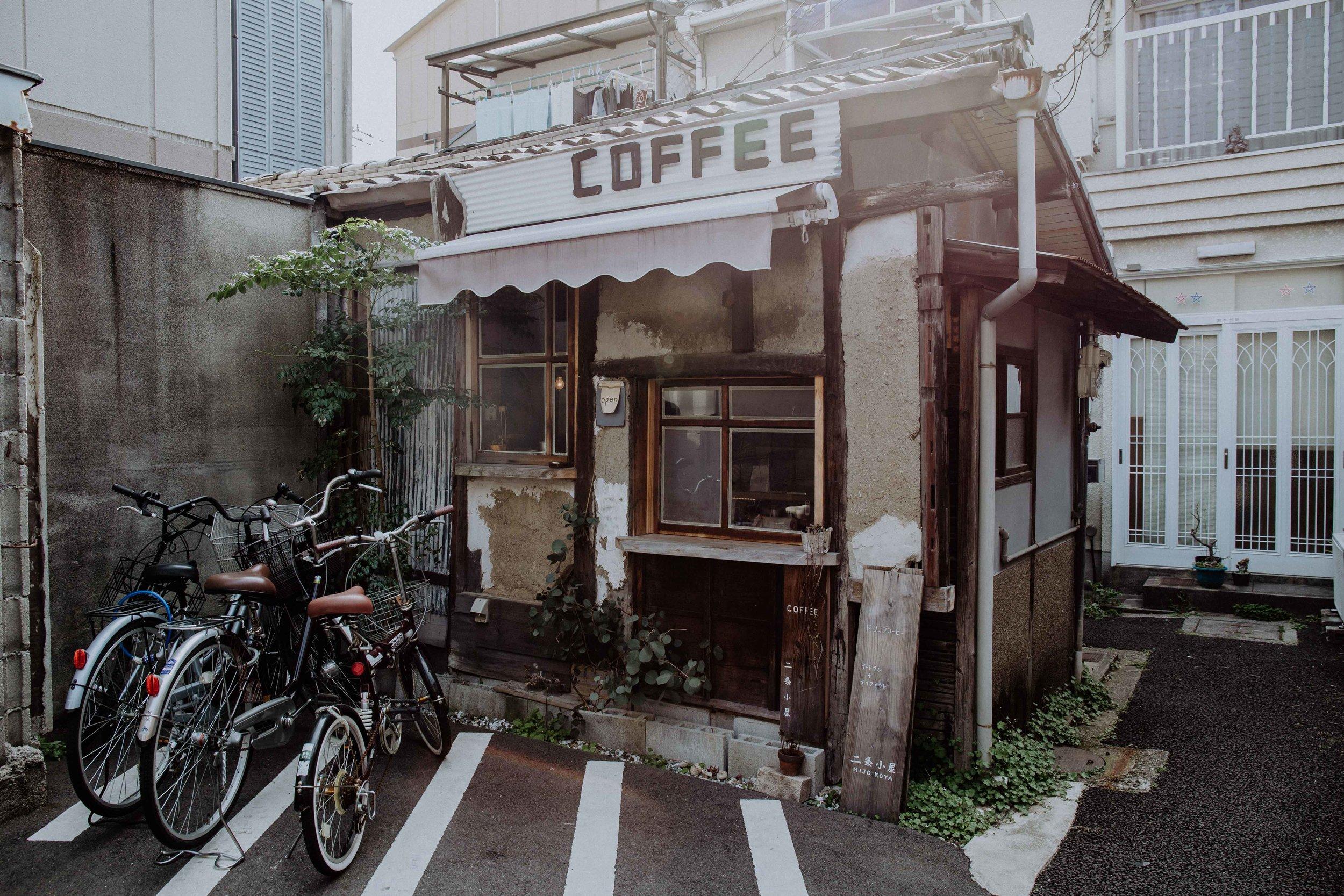nijo koya specialty coffee shop kyoto