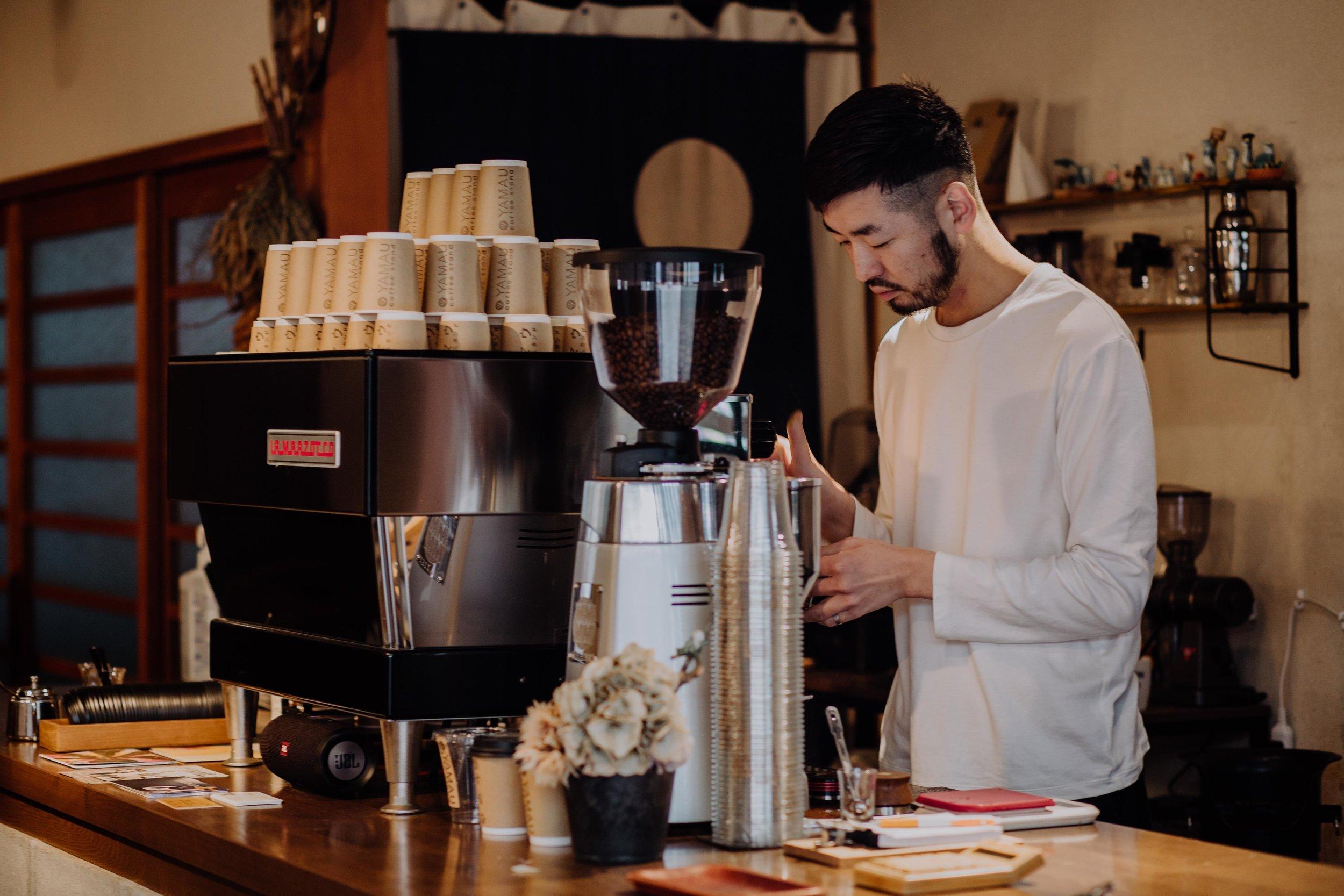yamau coffee stand kurashiki