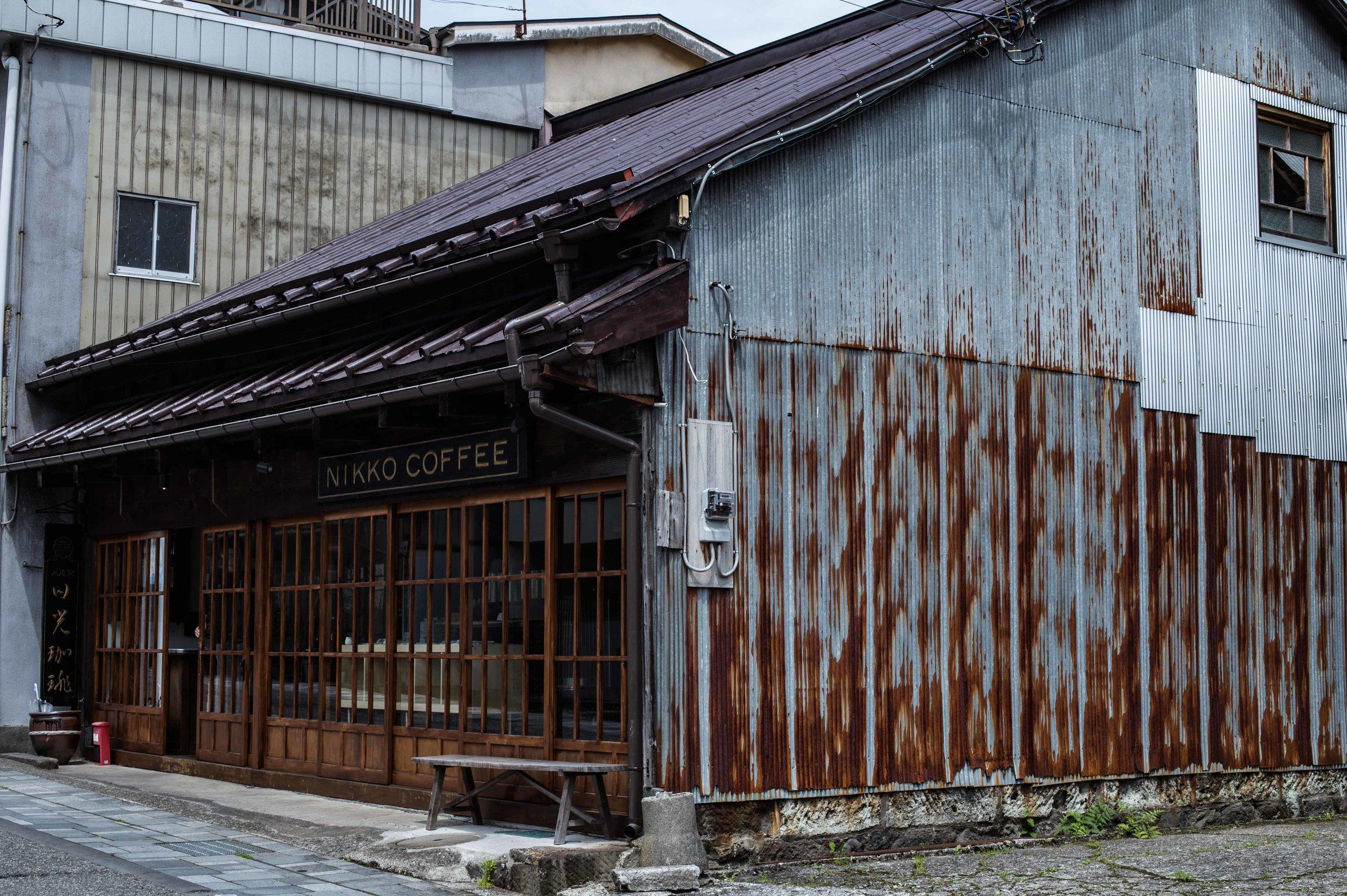 specialty coffee shop nikko japan