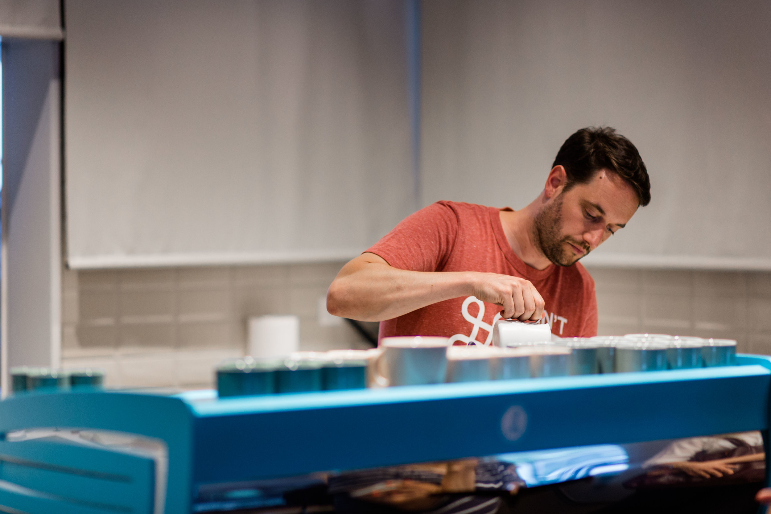 Mathieu Theis - Swiss Barista Champion 2016 and 2018