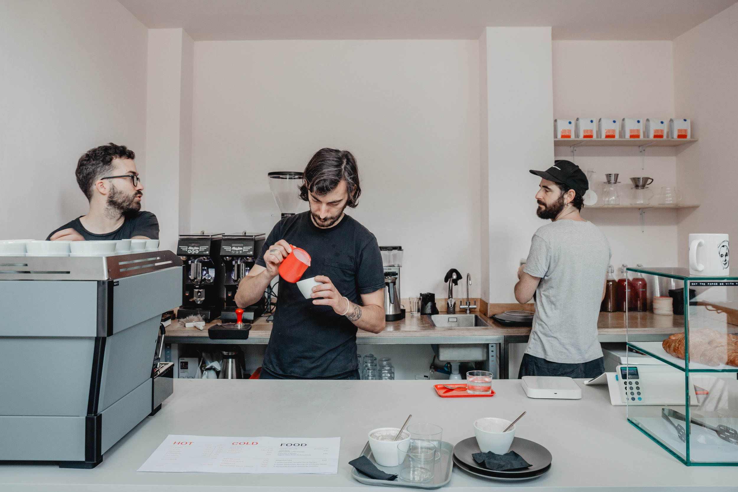Three Marks Coffee Barcelona