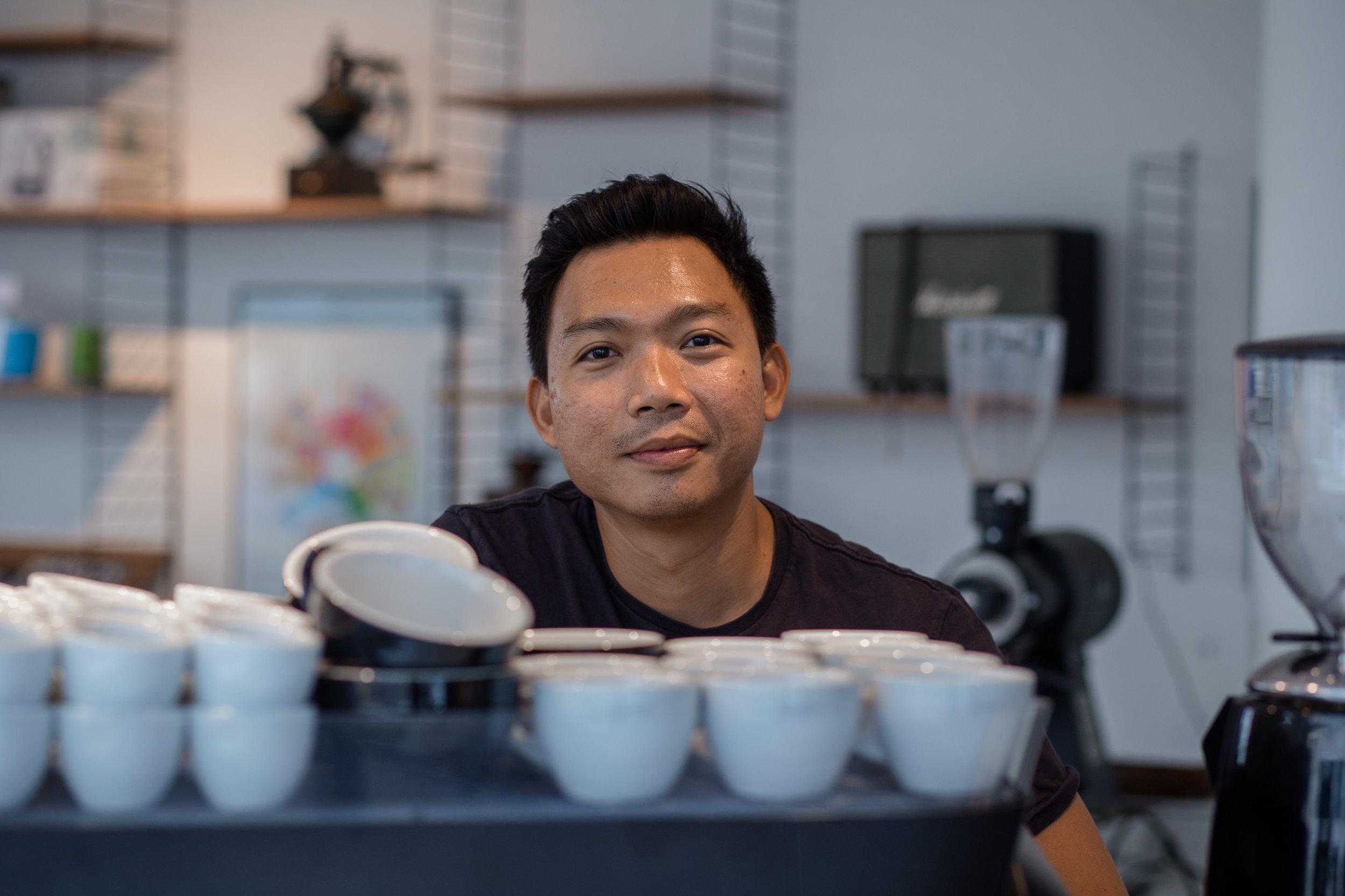 Milo is running Coffee Lab Zurich