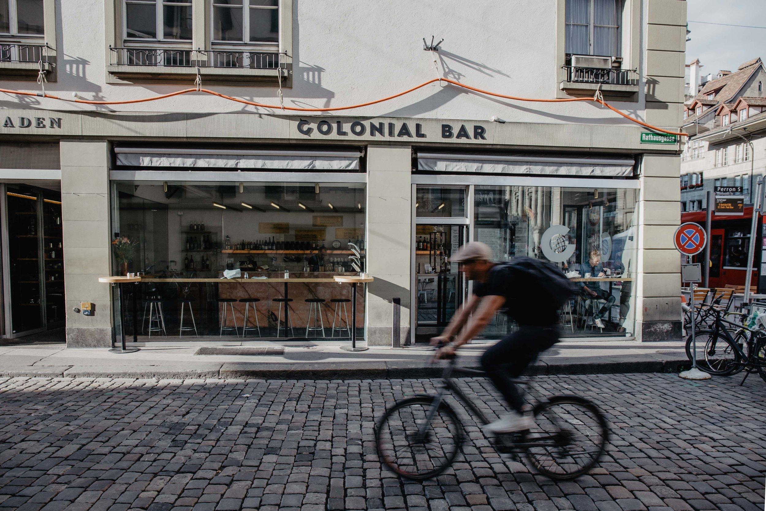 colonial bar specialty coffee bern