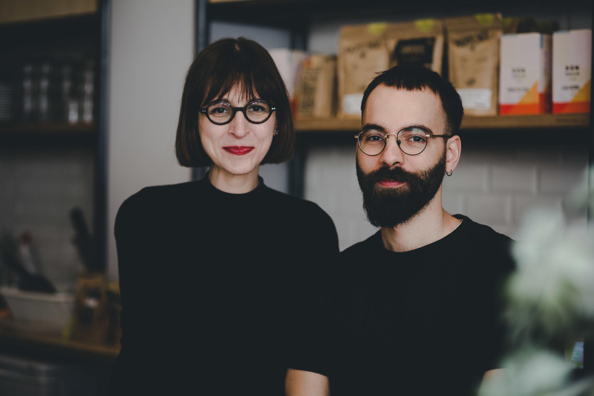 Co-owners Gema and Rafa