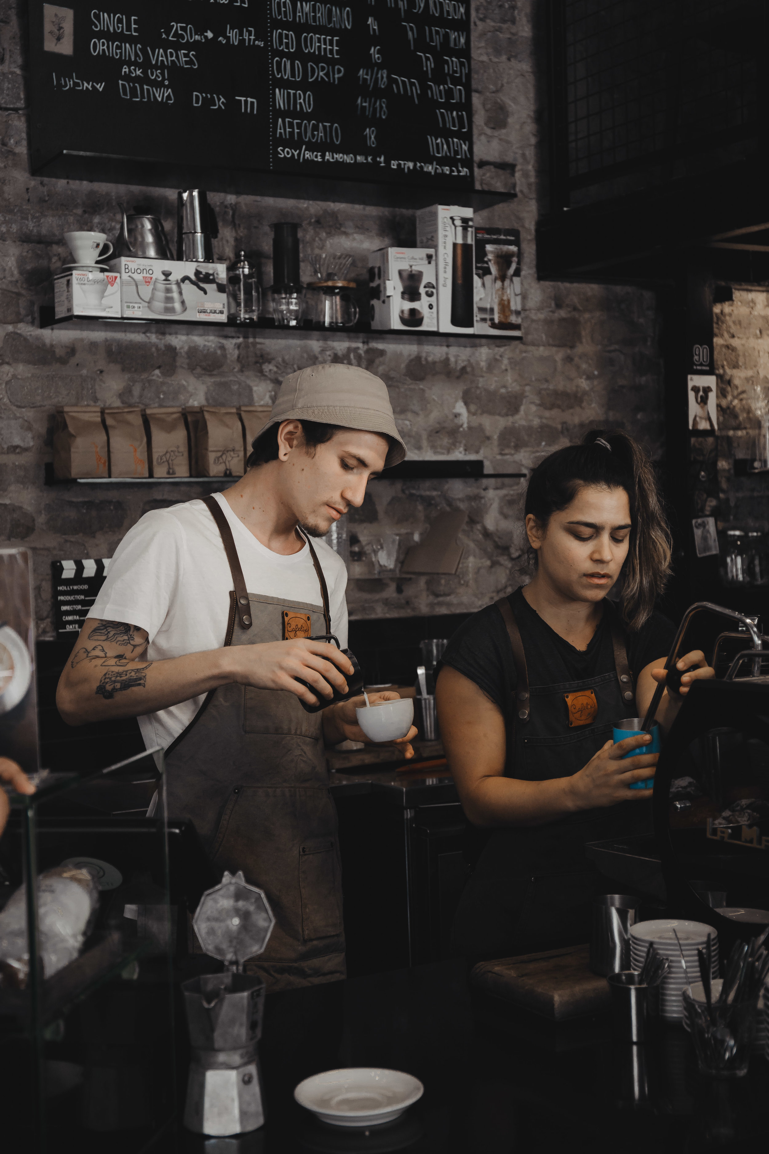 cafelix specialty coffee shop tel aviv