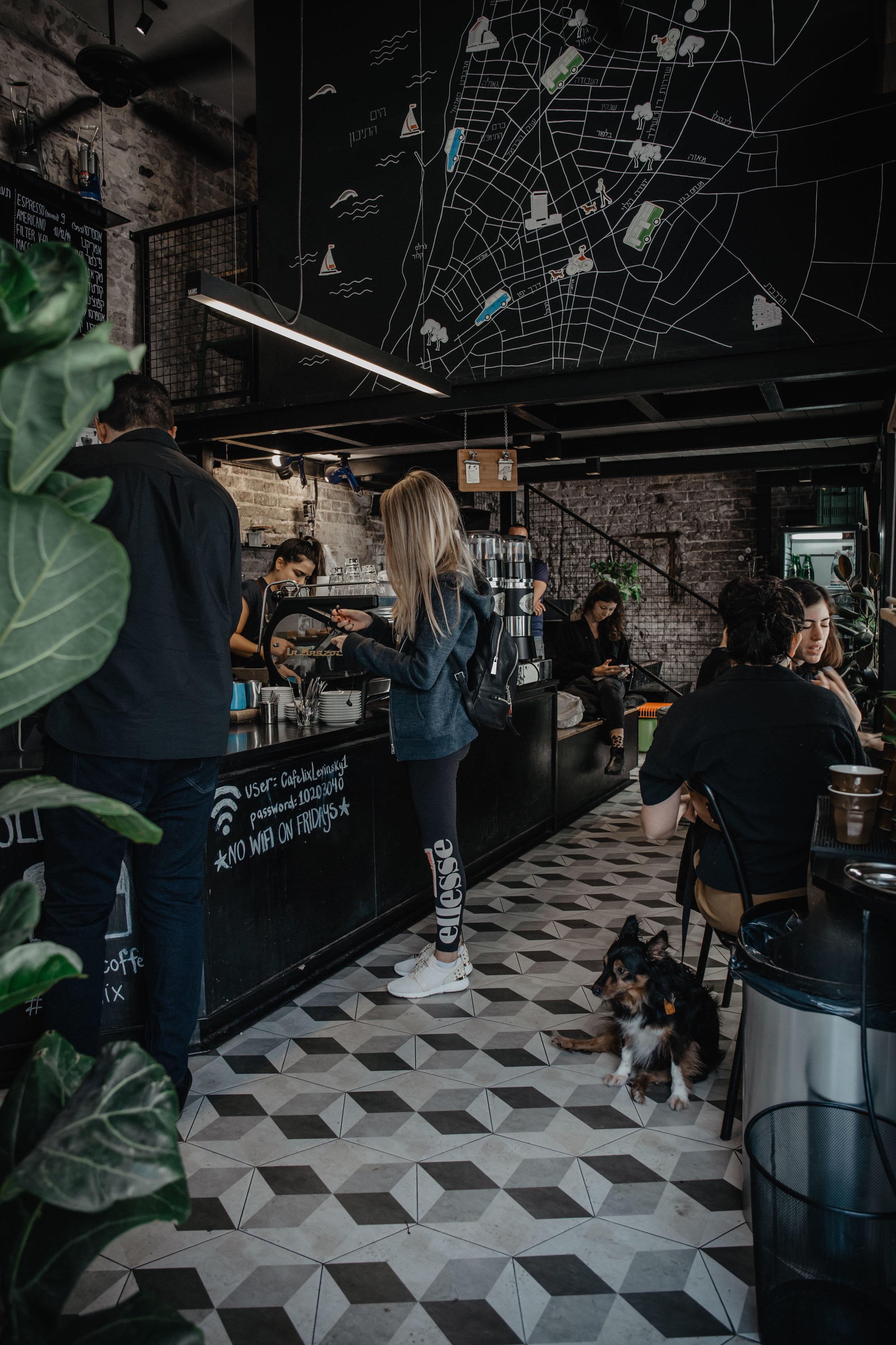 cafelix specialty coffee tel aviv