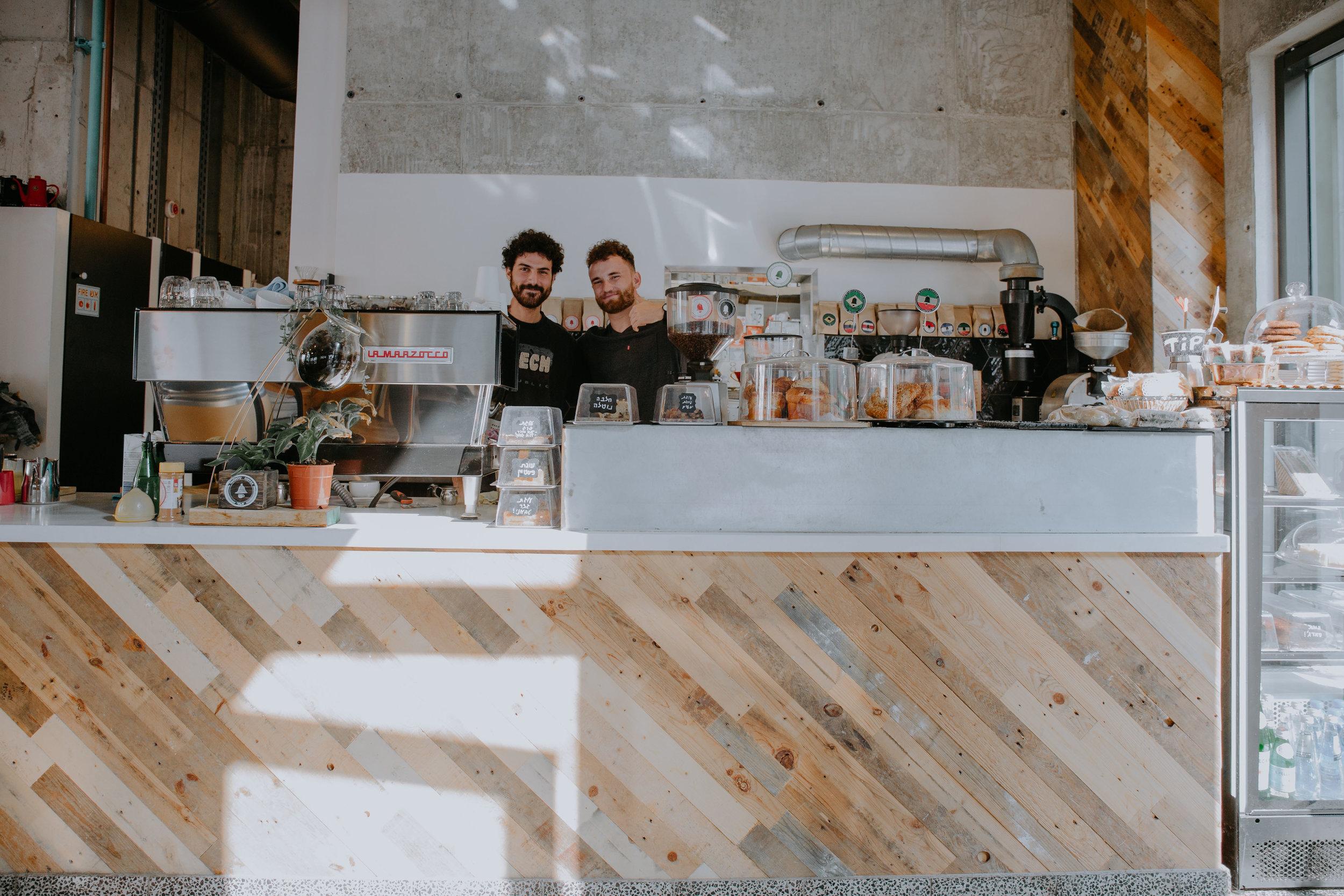 WayCup specialty coffee tel aviv
