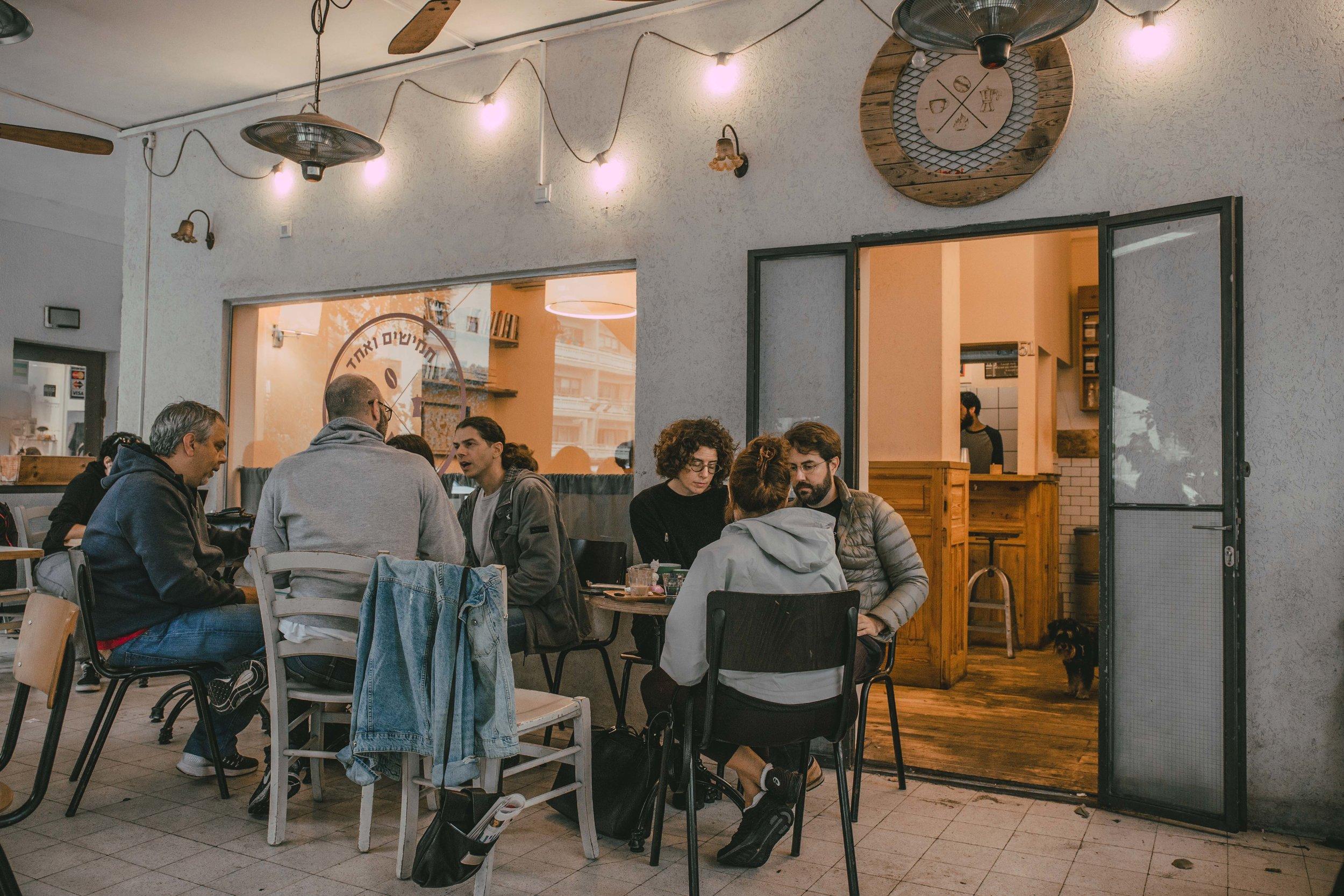 coffee shop 51 tel aviv