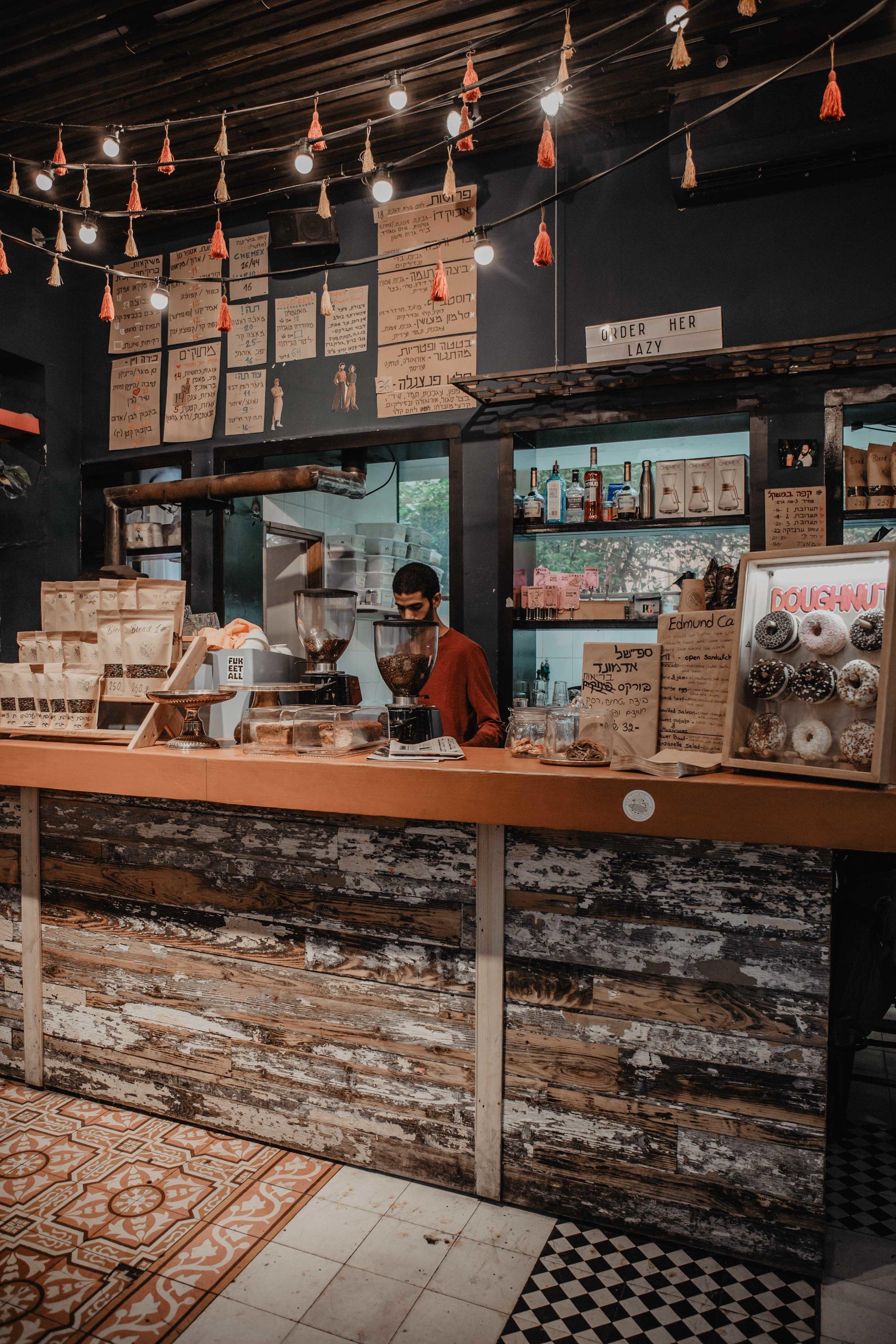 edmond coffee tel aviv