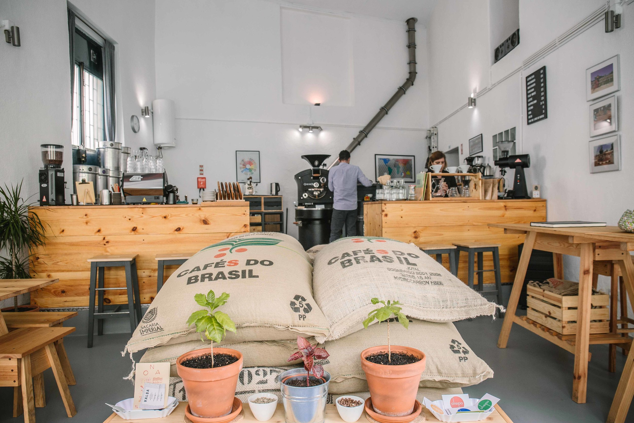 olisipo coffee roasters Lisbon