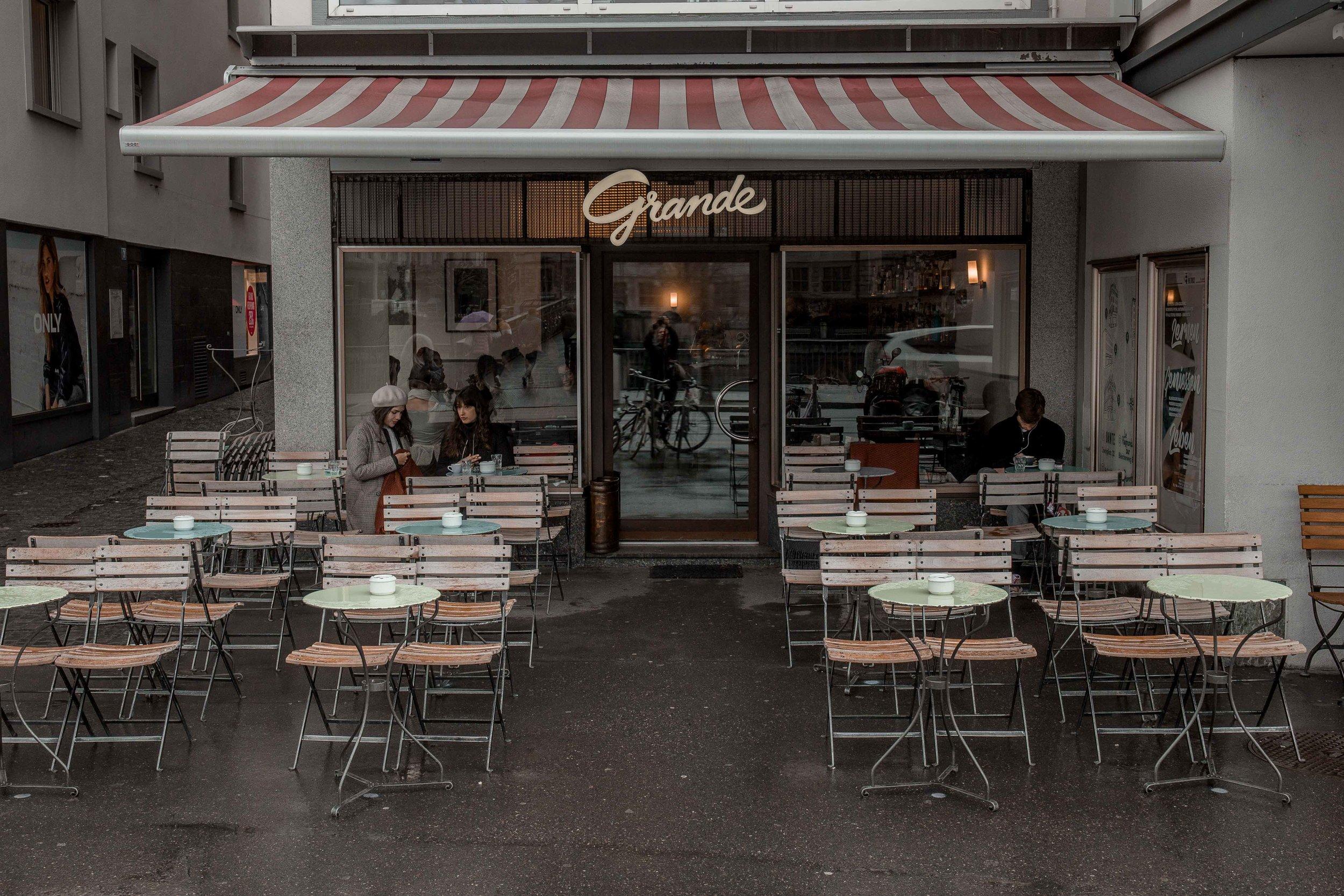 best coffee shops Zurich