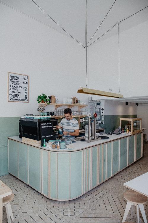 little fern coffee Barcelona