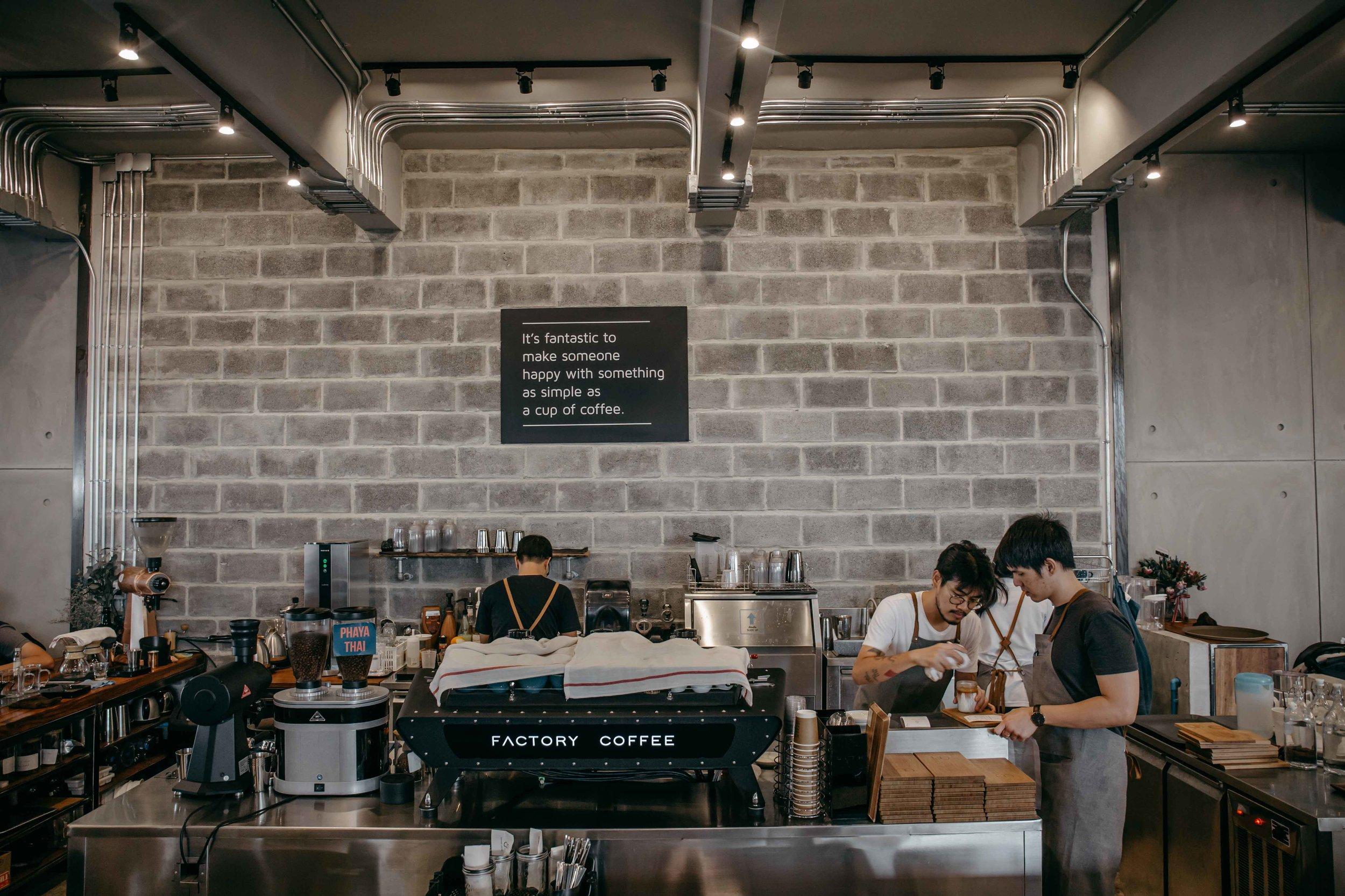 athip barista champion factory bangkok thailand