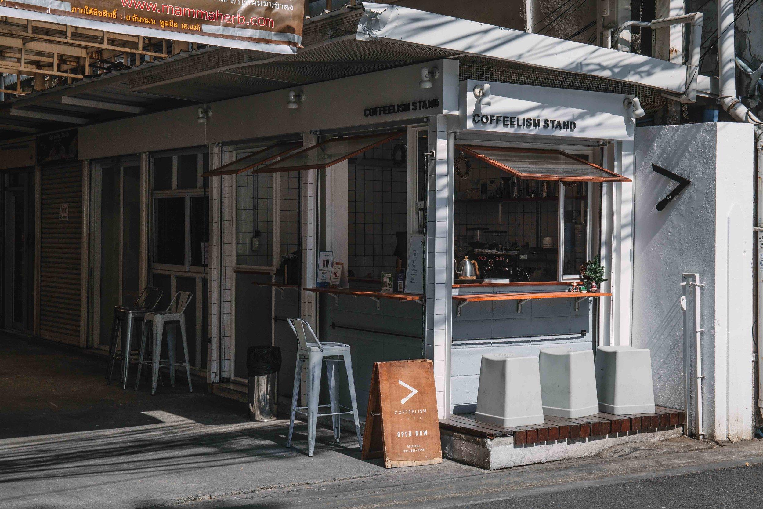 coffeelism stand Bangkok