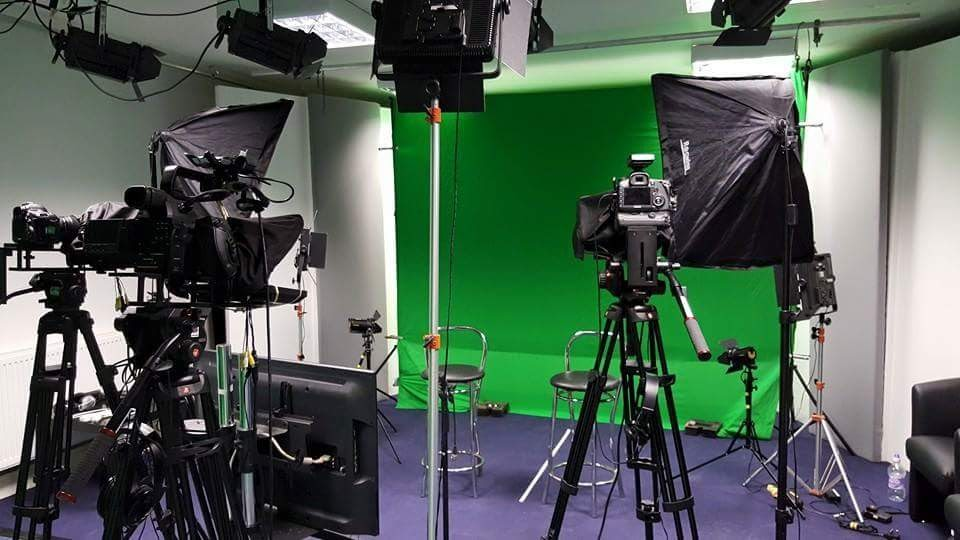 Studio Hire - We have a fully fitted studio available for hire at our premises in Quinton, Northamptonshire, which is a few minutes from junction 15 of the M1.