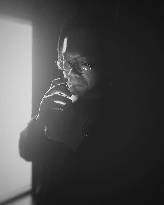 #postproduction #latenight #smokebreak #editor #idcreations #shanghai #china