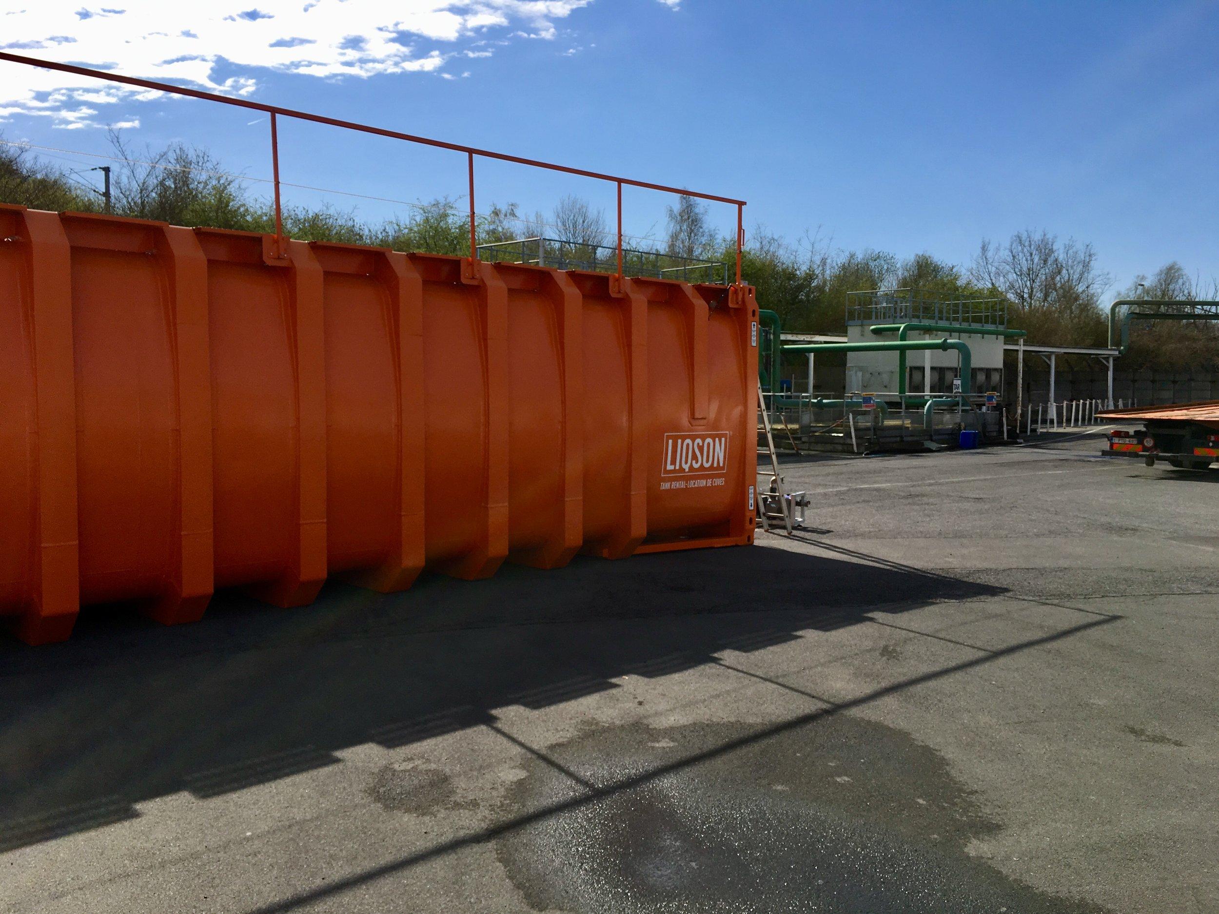 50.000L watertank