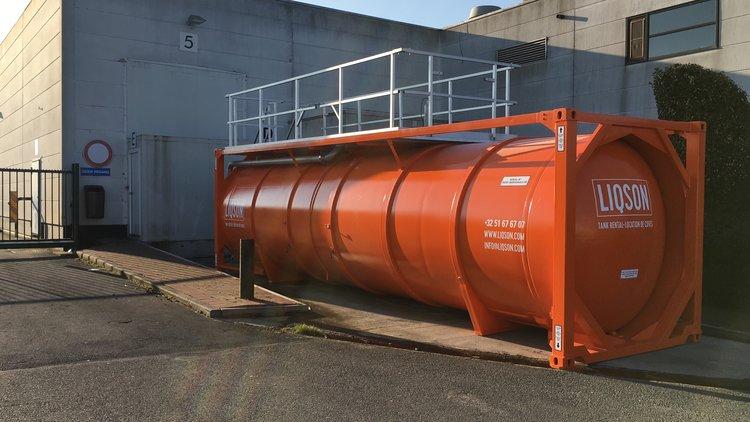 Location d'une cuve à eau de refroidissement de 36.000L