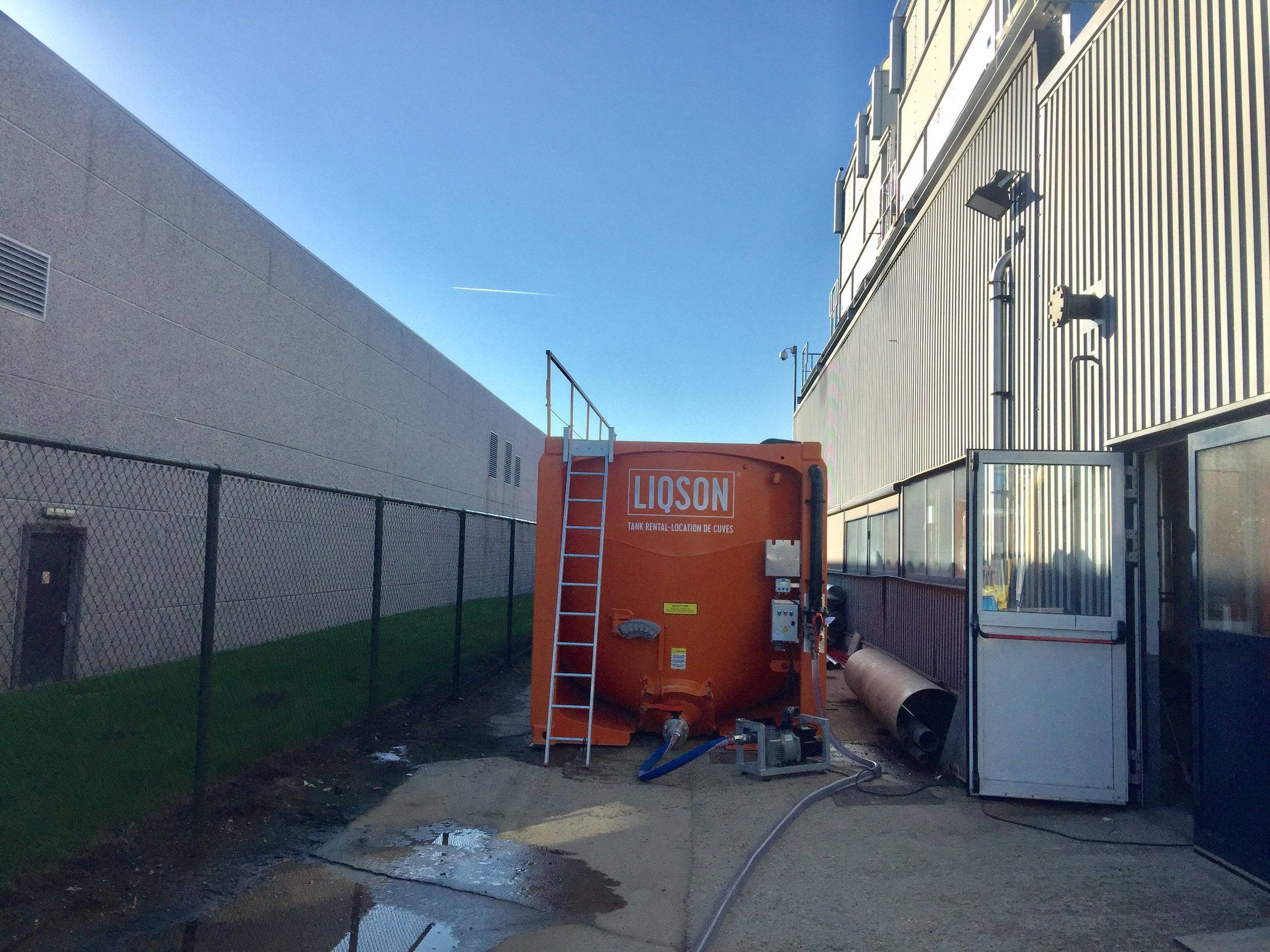 mobiele watercontainer