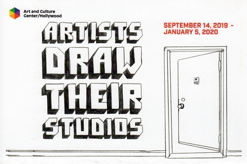 Group exhibition: Artists Draw Their Studios - Art and Culture Center of Hollywood1650 Harrison StreetHollywood, FL 33020Tuesday – Friday, 10 am – 5 pmSaturday – Sunday, Noon – 4 pmThe Center is closed on Mondays