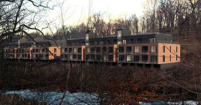 Fishkill Creek Development  #upstateny #beaconny #fishkillcreek #abarchitekten  #hudsonvalley #industrialarchitecture #residential