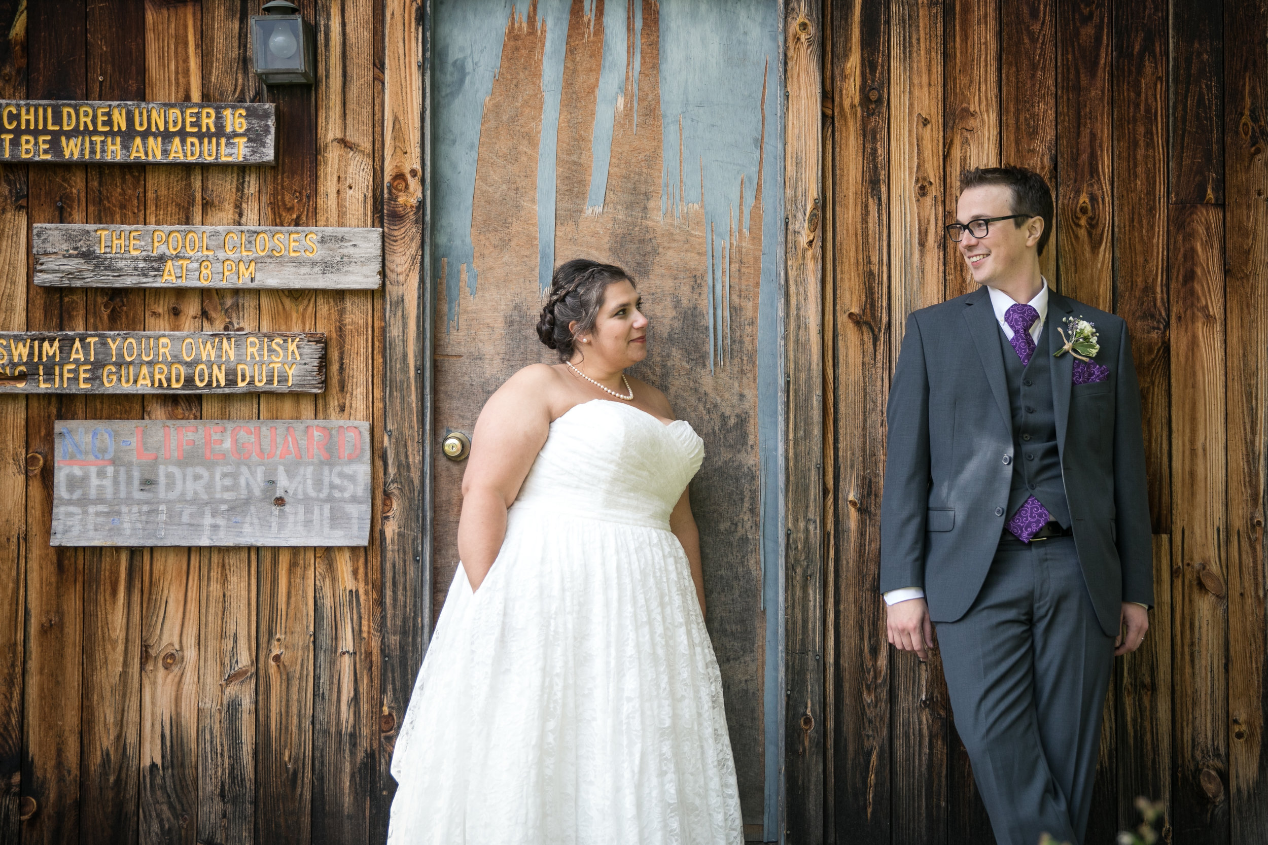 KAT & DAVE - MAD RIVER BARN: WAITSFIELD, VT