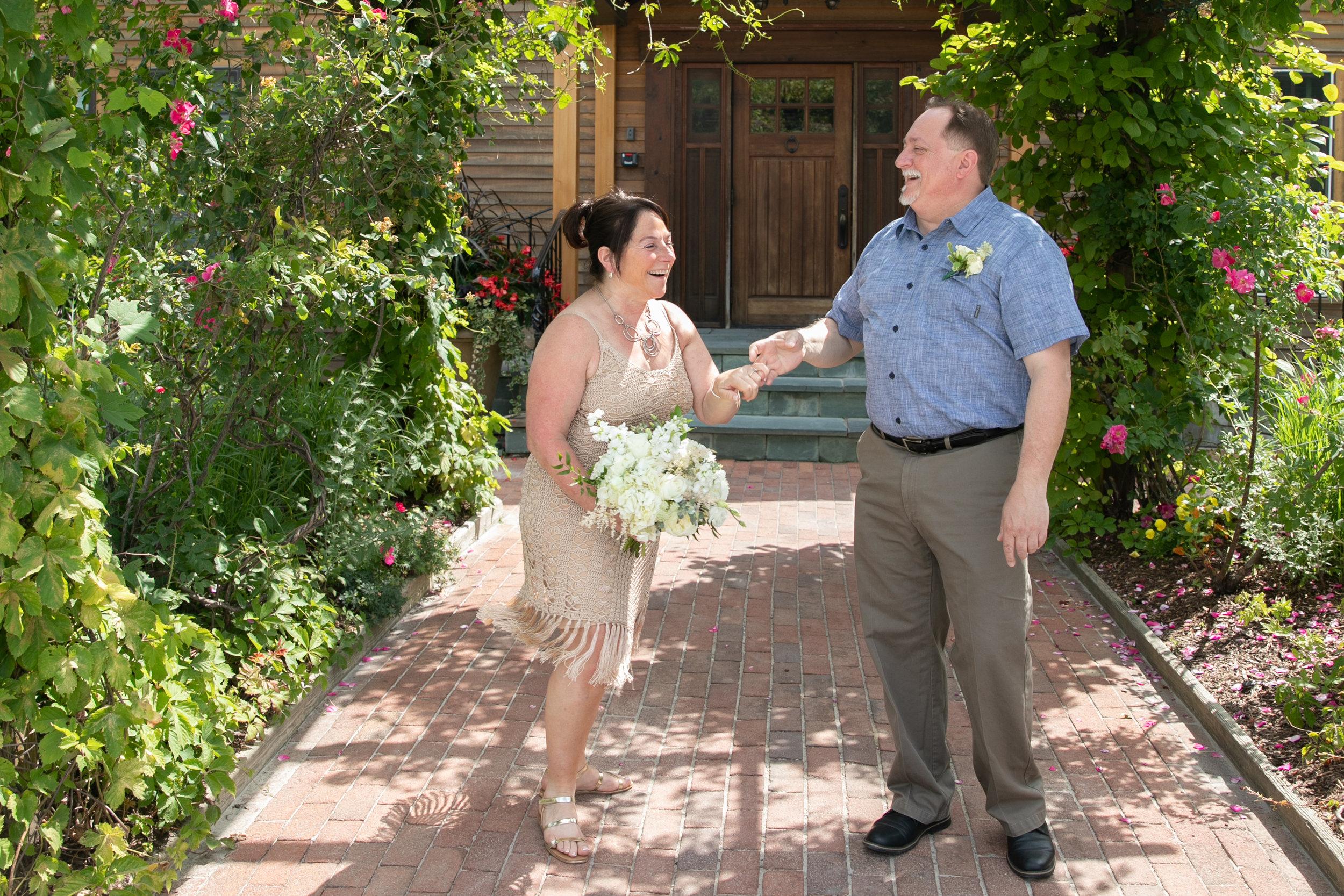Sue & Erick - July 10, 2018 @  Mountain Top Inn & Resort  - Chittenden, Vermont