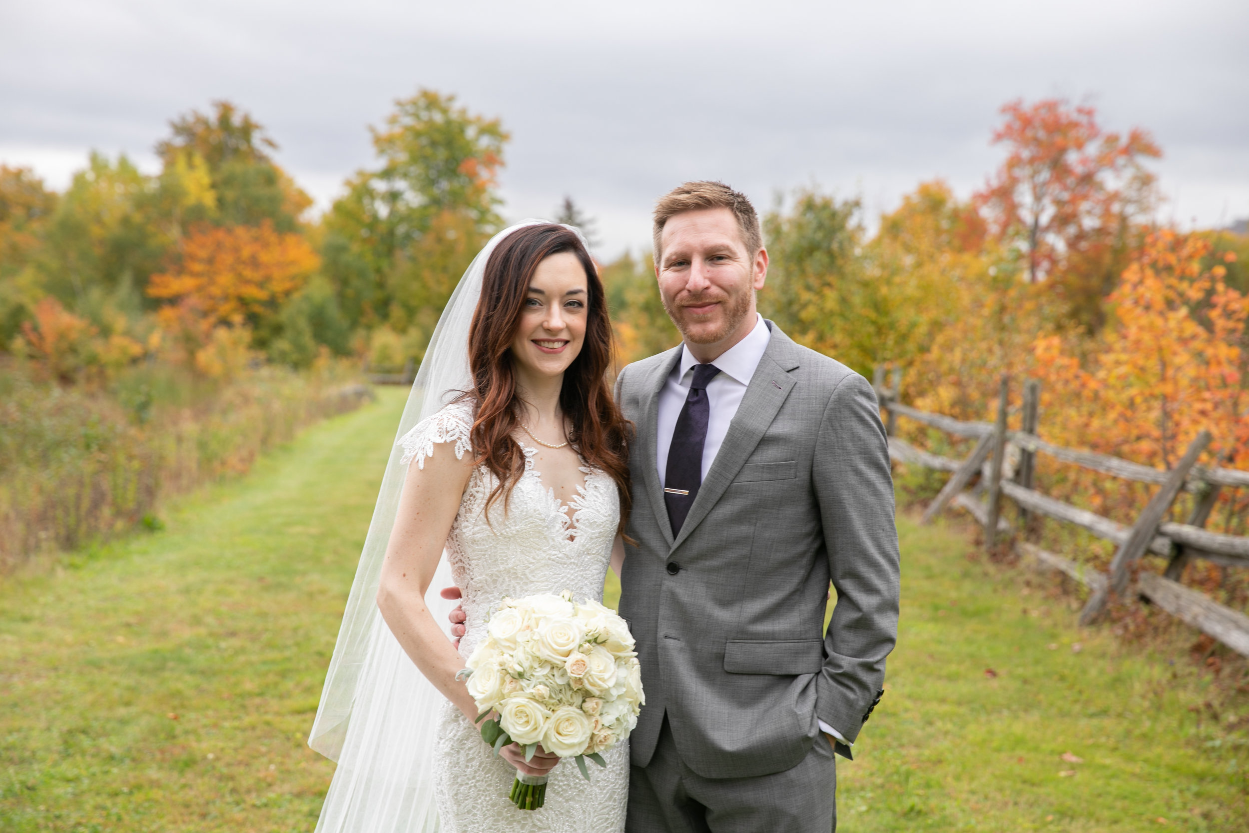 Erin & Adam - October 6, 2018 @  The Ponds at Bolton Valley  - Richmond, Vermont
