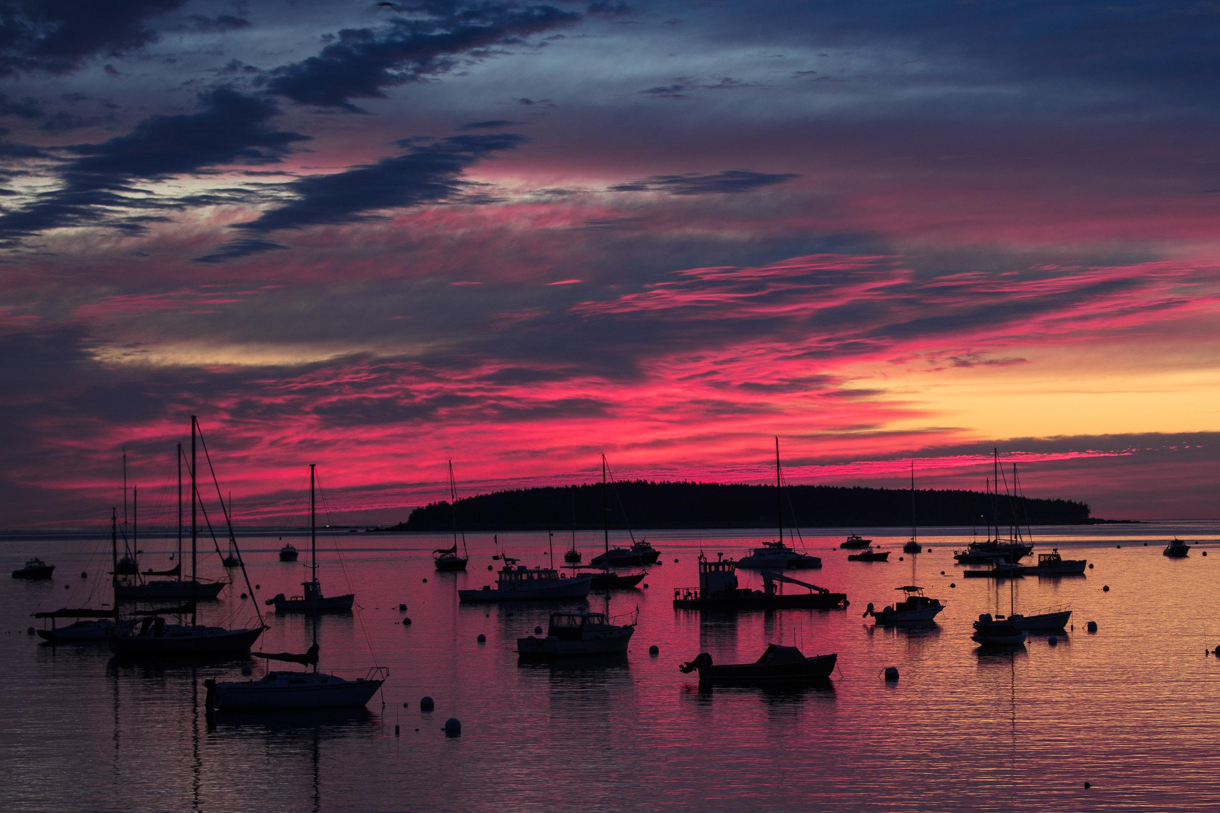 Southwest Harbor Sunrise I